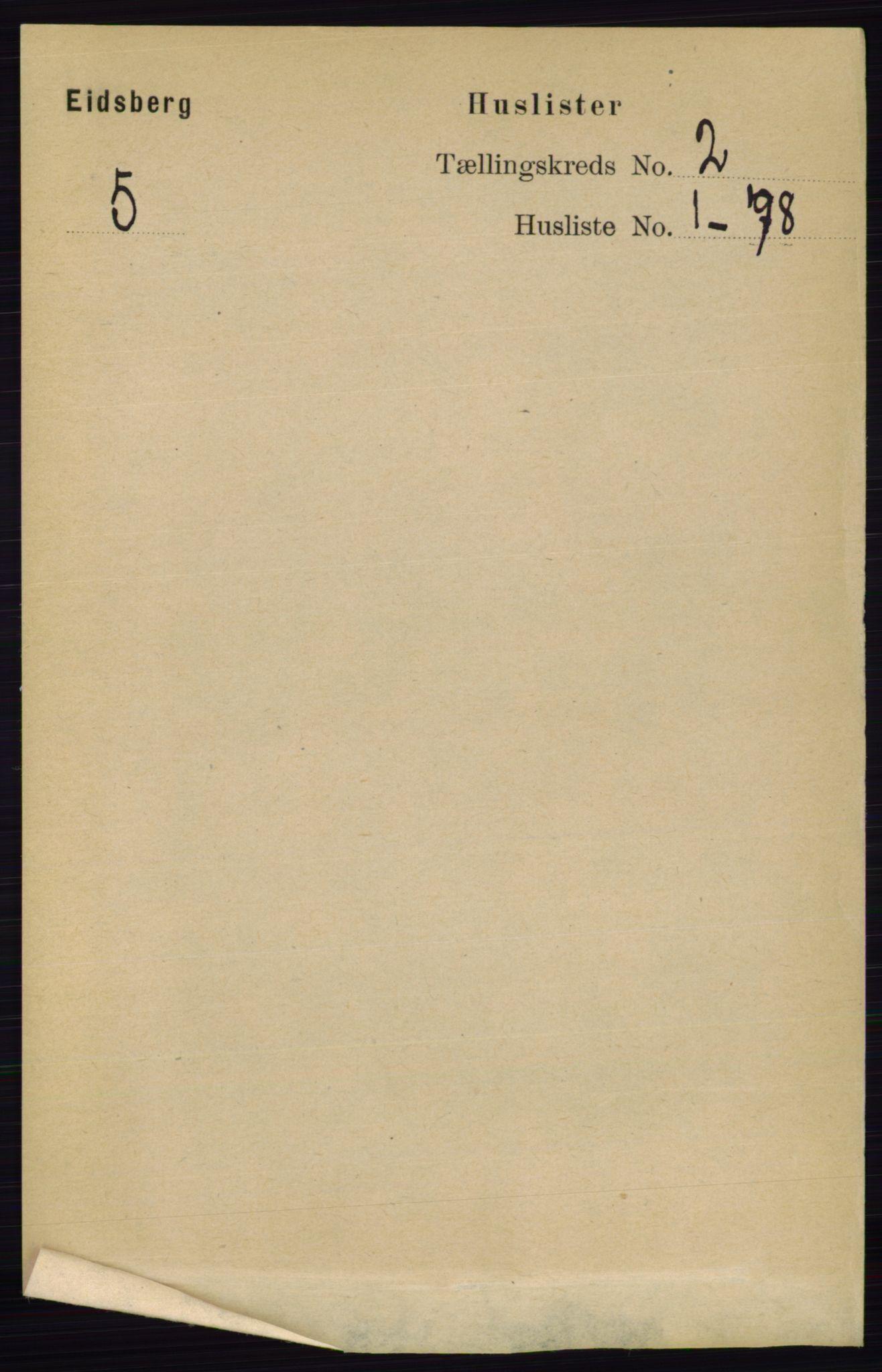 RA, Folketelling 1891 for 0125 Eidsberg herred, 1891, s. 757