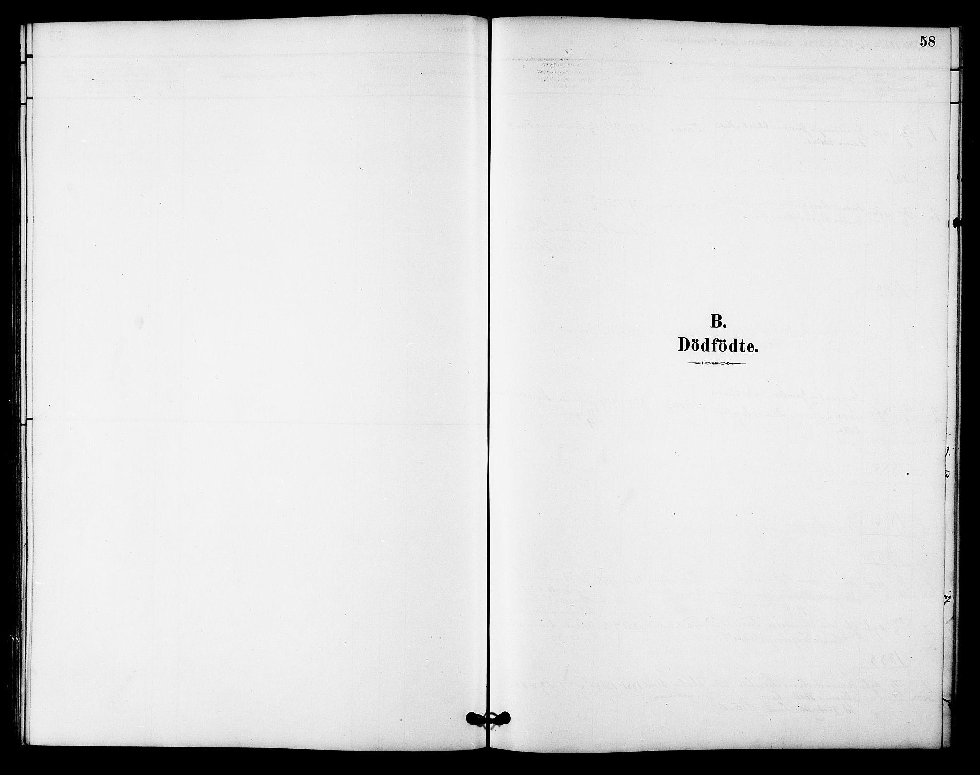 SAT, Ministerialprotokoller, klokkerbøker og fødselsregistre - Sør-Trøndelag, 618/L0444: Ministerialbok nr. 618A07, 1880-1898, s. 58