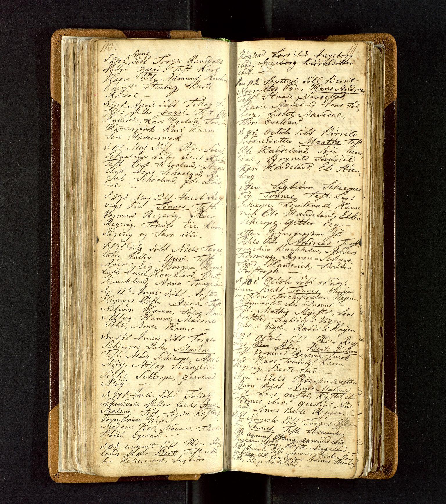 SAST, Lund sokneprestkontor, Ministerialbok nr. A 3, 1761-1801, s. 110-111