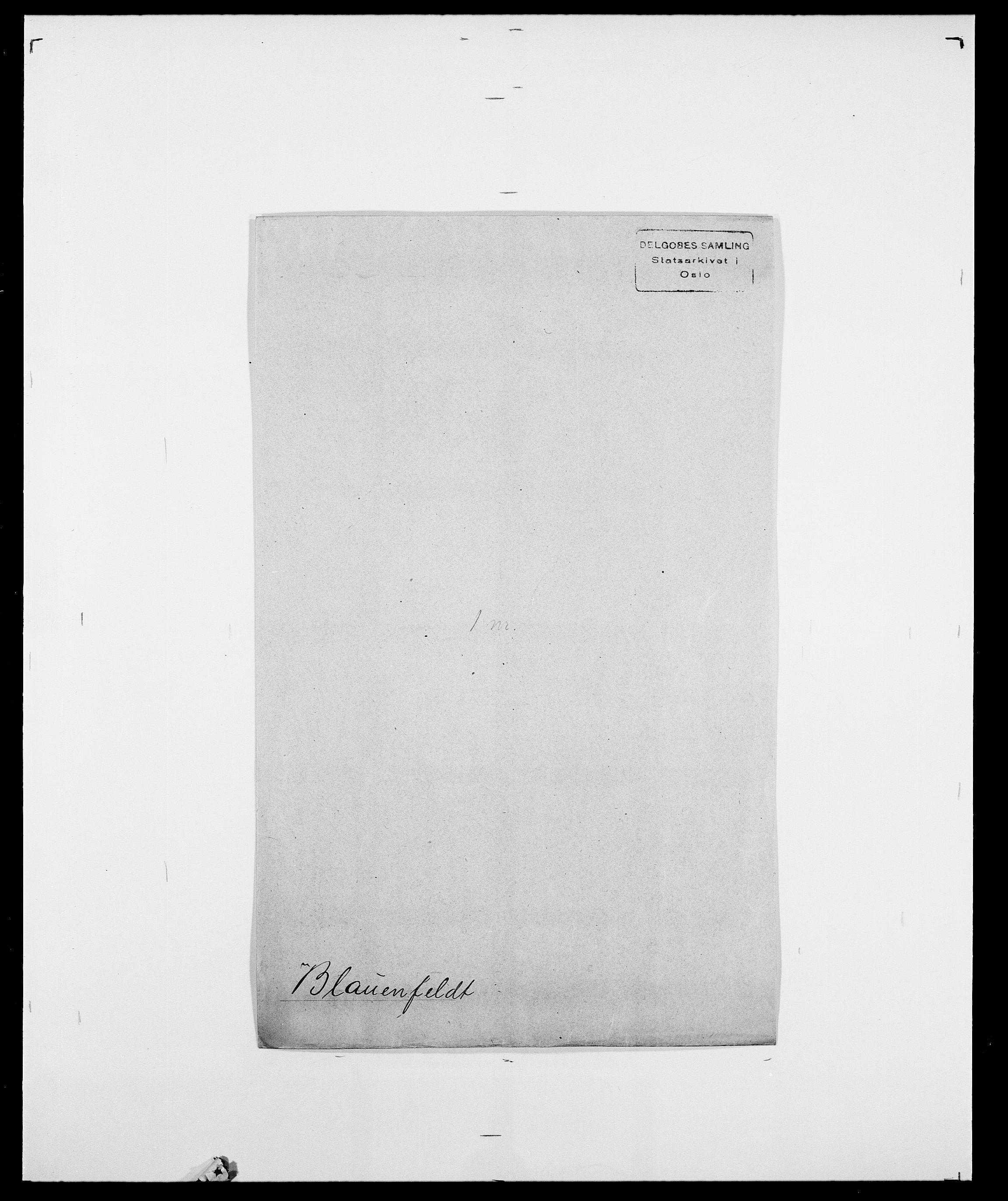 SAO, Delgobe, Charles Antoine - samling, D/Da/L0004: Bergendahl - Blære, s. 544