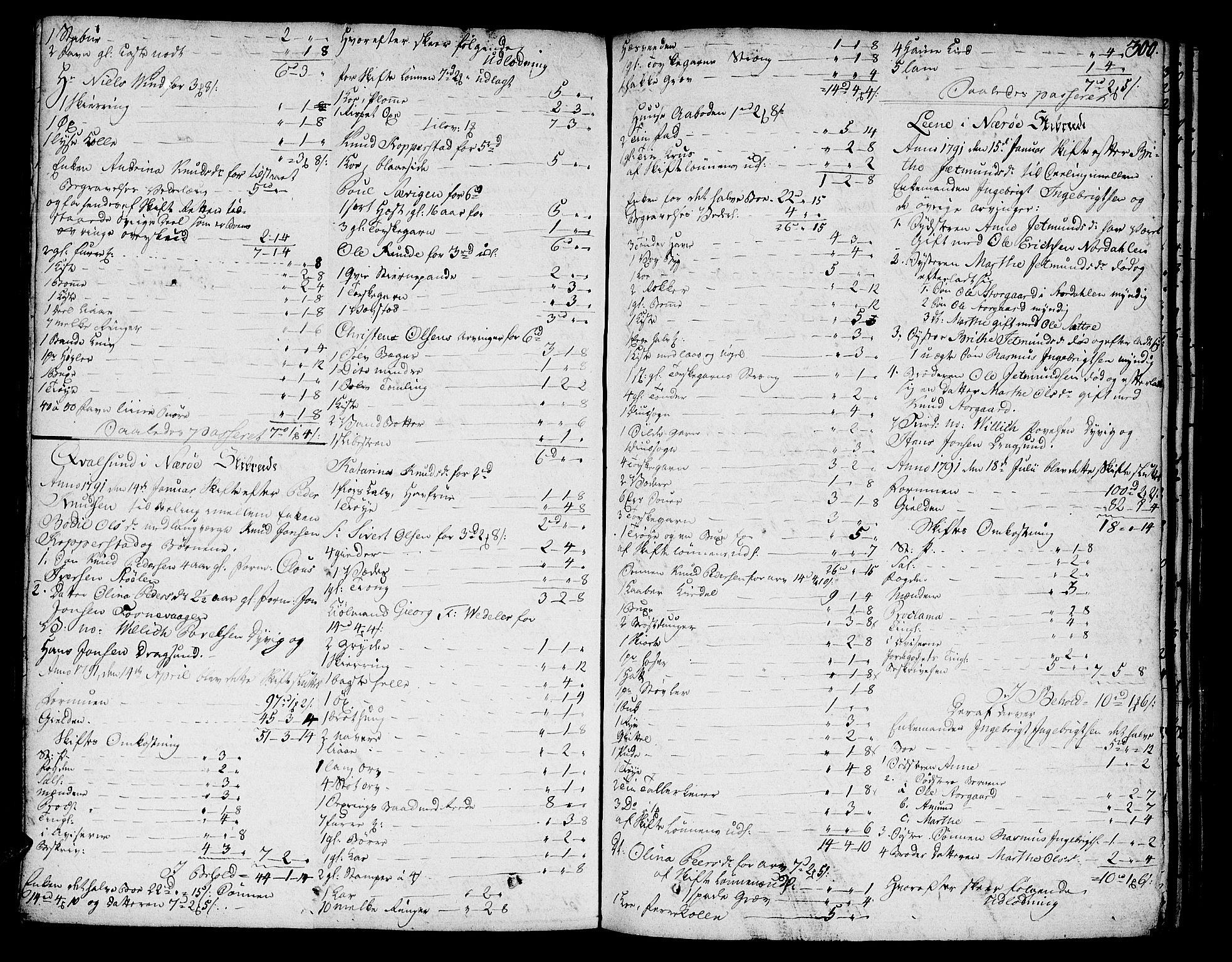 SAT, Sunnmøre sorenskriveri, 3/3A/L0029: Skifteprotokoll 20, 1787-1801, s. 299b-300a