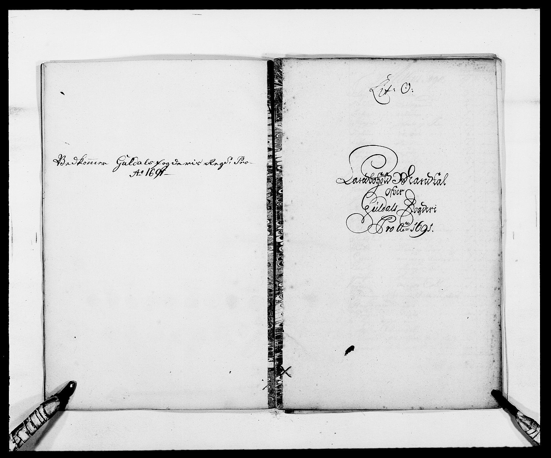 RA, Rentekammeret inntil 1814, Reviderte regnskaper, Fogderegnskap, R59/L3941: Fogderegnskap Gauldal, 1691, s. 143