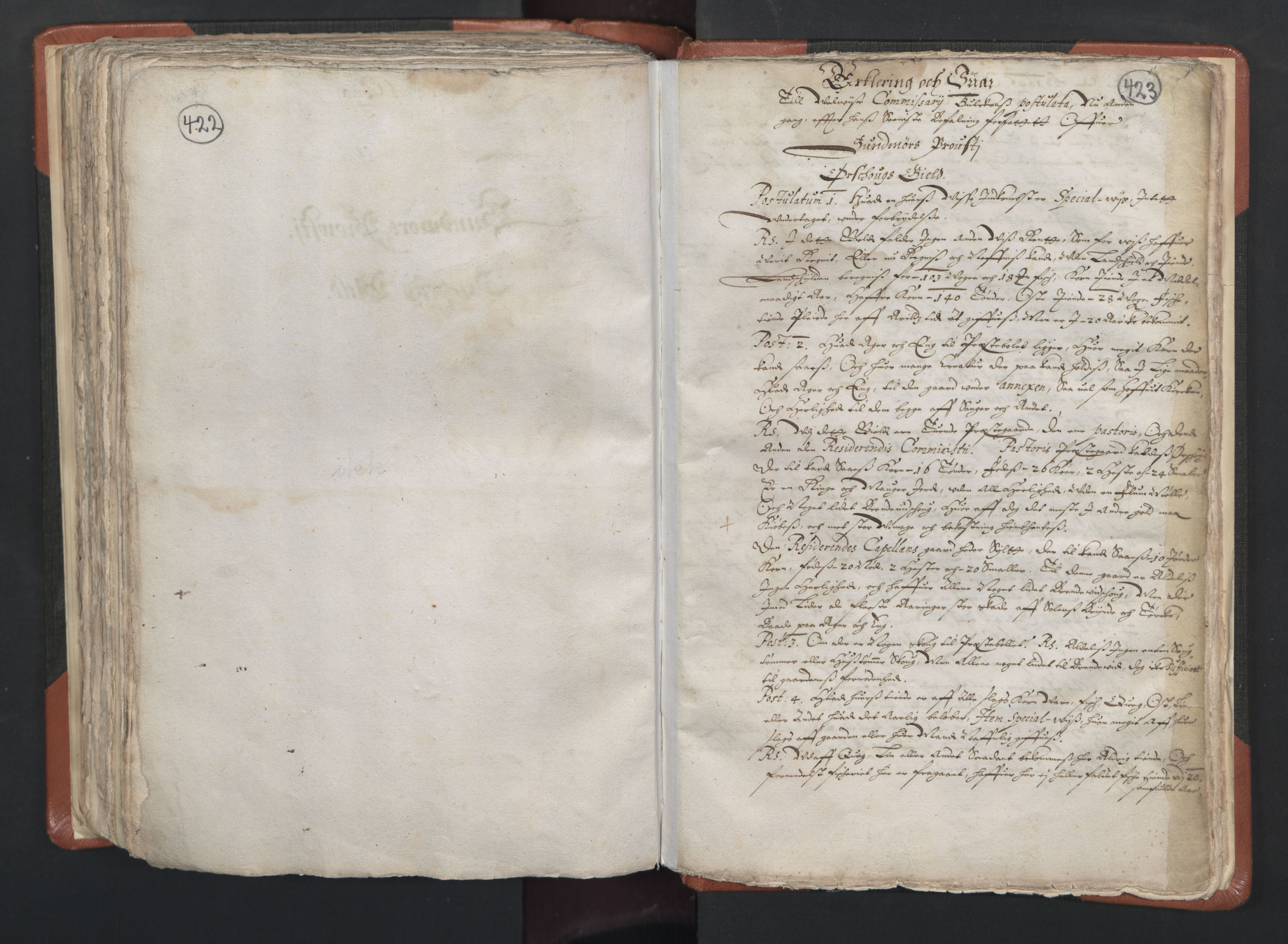 RA, Sogneprestenes manntall 1664-1666, nr. 26: Sunnmøre prosti, 1664-1666, s. 422-423