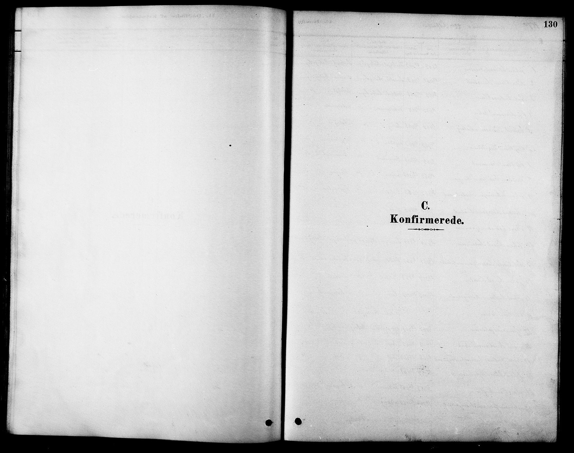 SAT, Ministerialprotokoller, klokkerbøker og fødselsregistre - Sør-Trøndelag, 616/L0423: Klokkerbok nr. 616C06, 1878-1903, s. 130