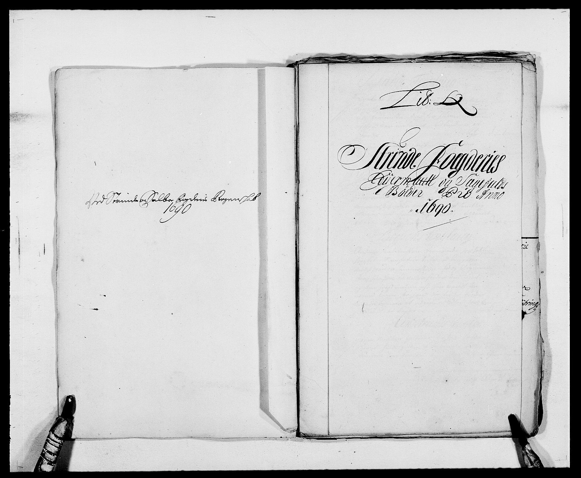 RA, Rentekammeret inntil 1814, Reviderte regnskaper, Fogderegnskap, R61/L4102: Fogderegnskap Strinda og Selbu, 1689-1690, s. 265