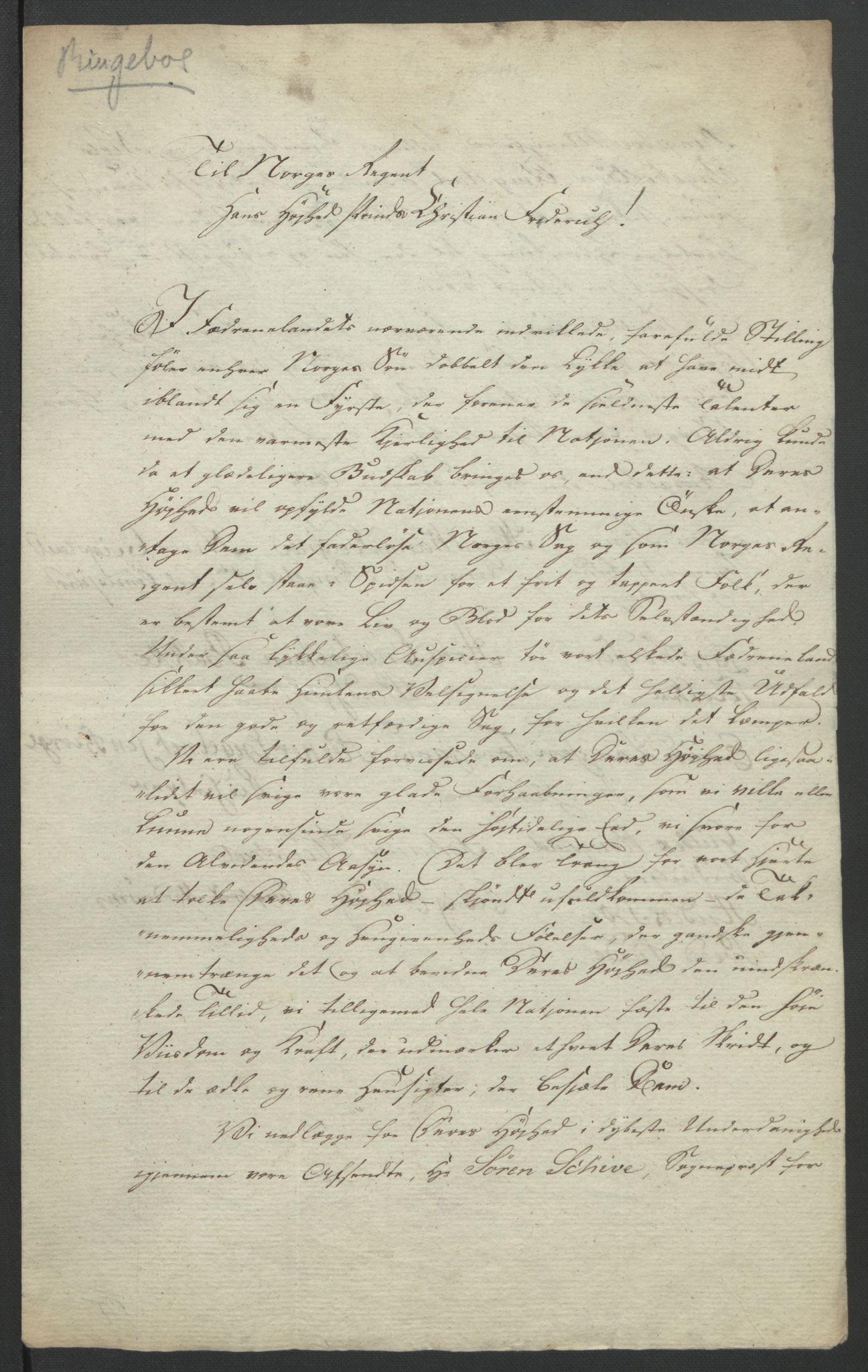 RA, Statsrådssekretariatet, D/Db/L0007: Fullmakter for Eidsvollsrepresentantene i 1814. , 1814, s. 278