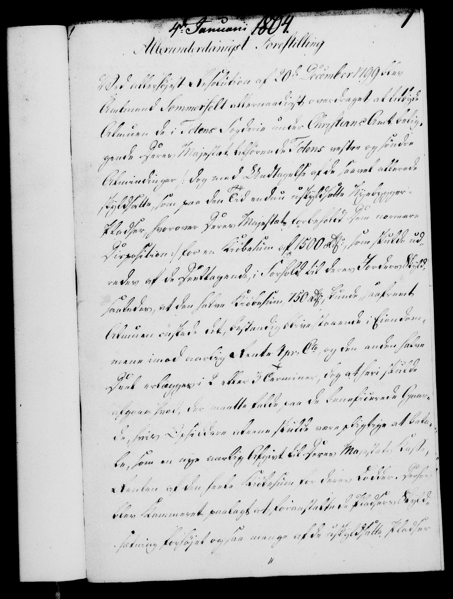 RA, Rentekammeret, Kammerkanselliet, G/Gf/Gfa/L0086: Norsk relasjons- og resolusjonsprotokoll (merket RK 52.86), 1804, s. 30