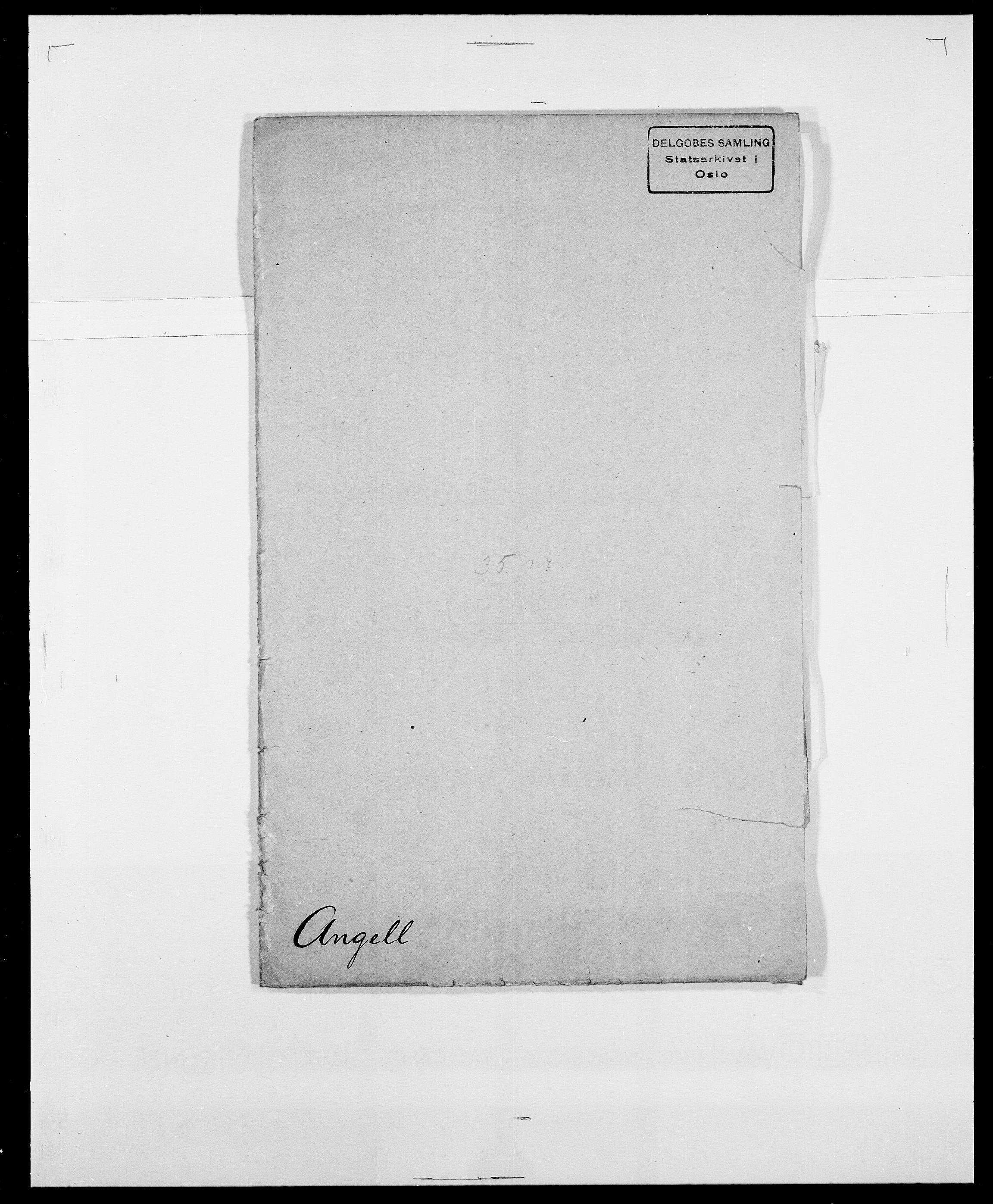 SAO, Delgobe, Charles Antoine - samling, D/Da/L0002: Anker, Ancher - Bauner, s. 29