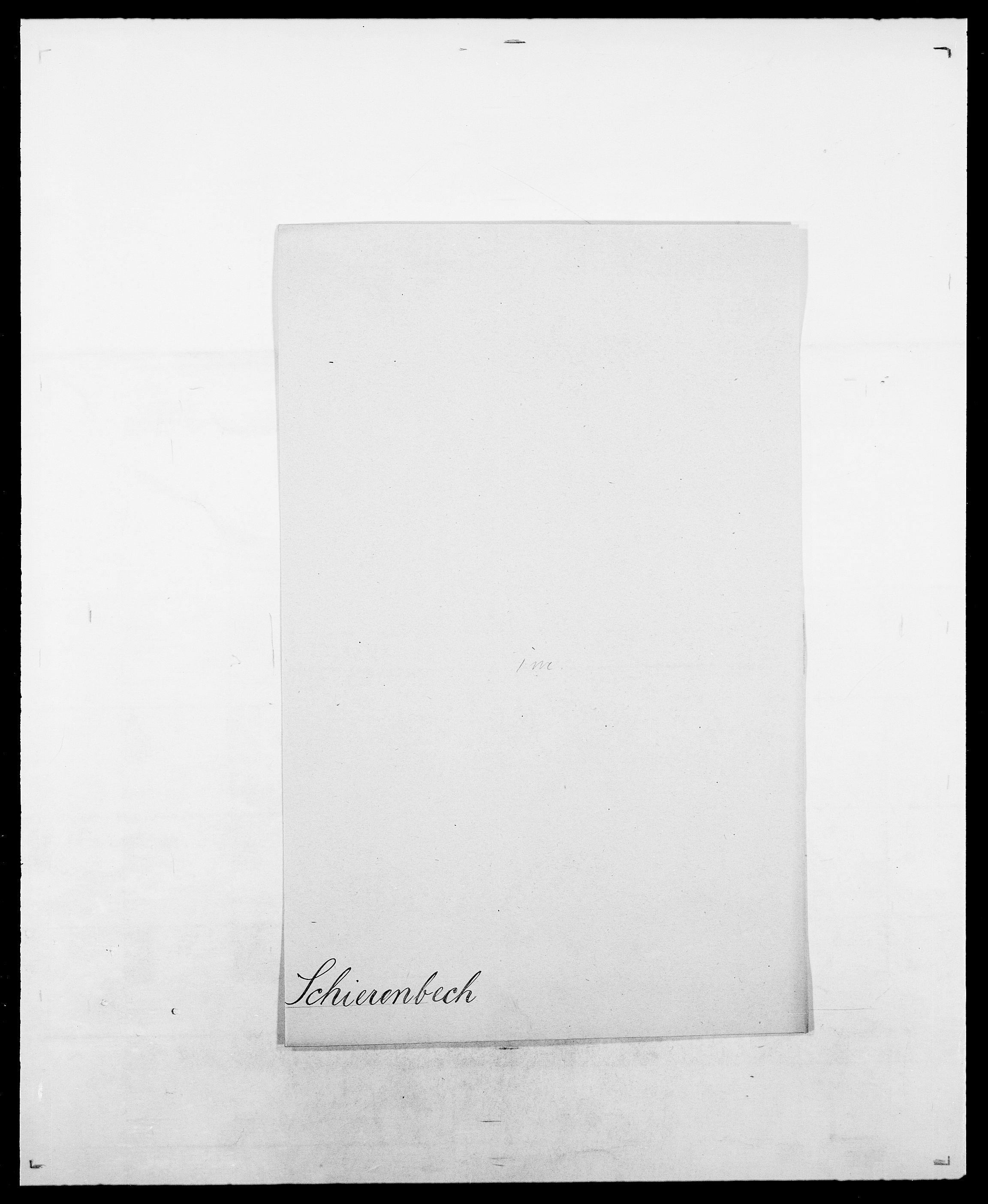 SAO, Delgobe, Charles Antoine - samling, D/Da/L0034: Saabye - Schmincke, s. 511