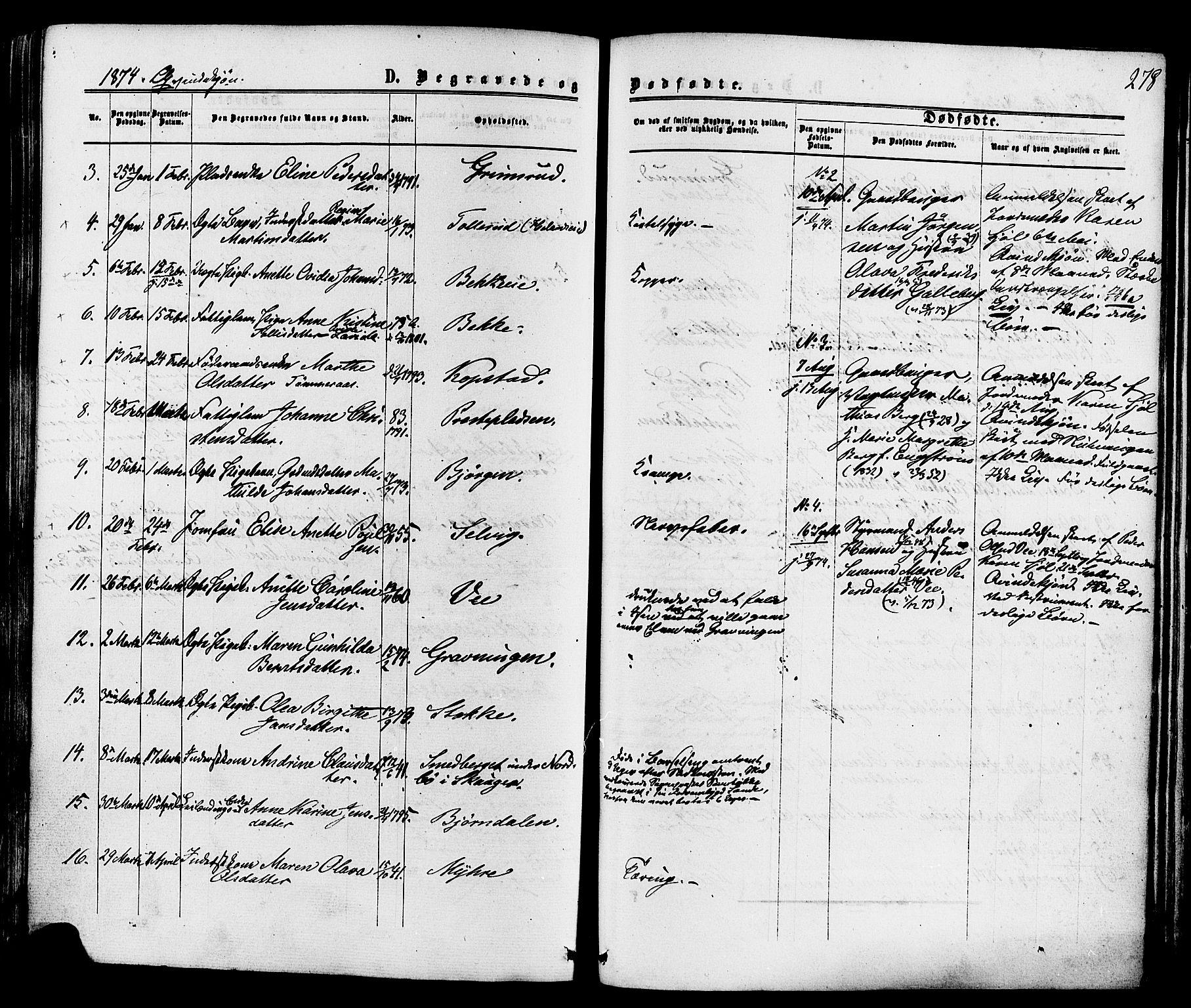 SAKO, Sande Kirkebøker, F/Fa/L0005: Ministerialbok nr. 5, 1865-1877, s. 278