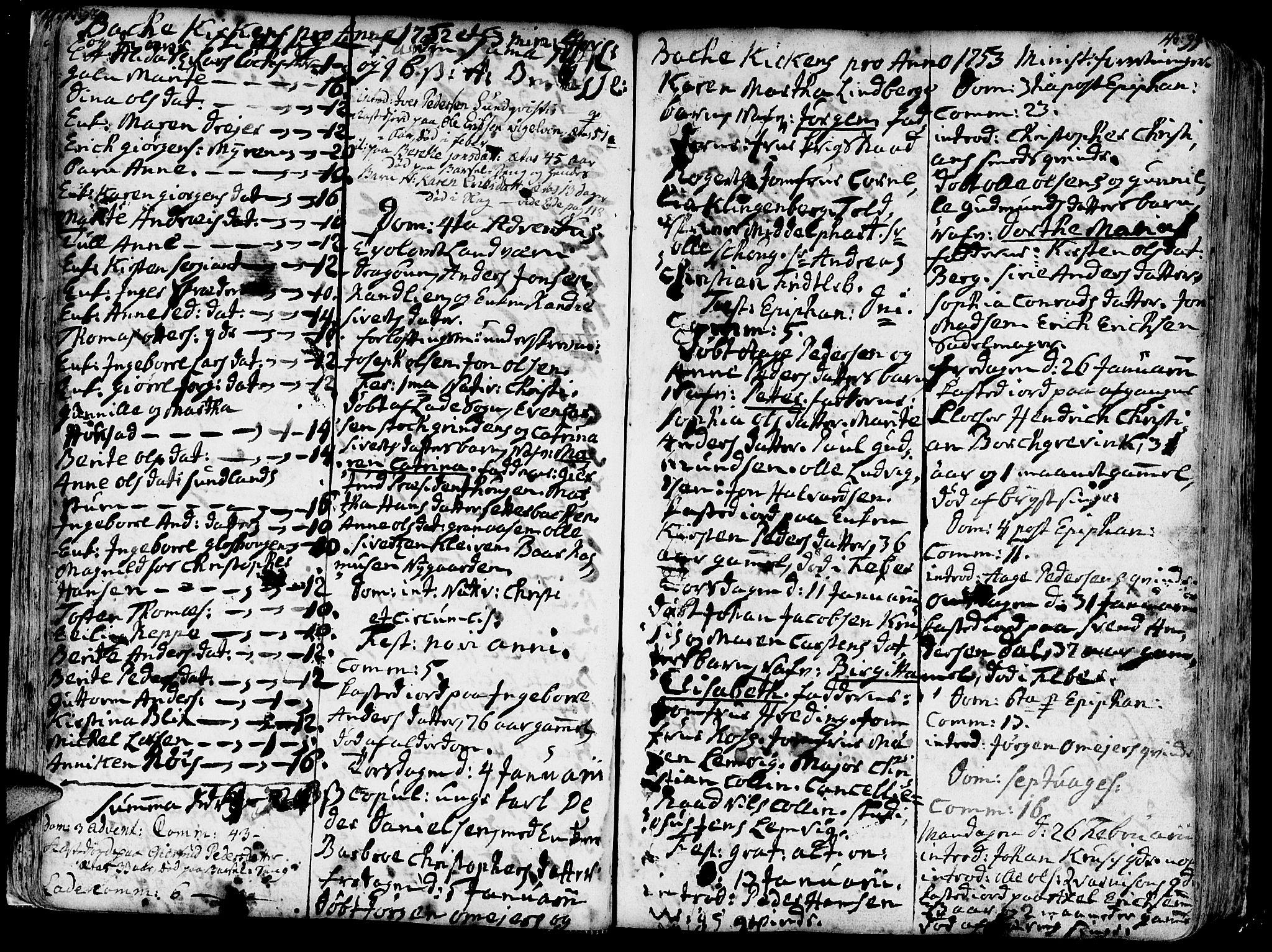 SAT, Ministerialprotokoller, klokkerbøker og fødselsregistre - Sør-Trøndelag, 606/L0276: Ministerialbok nr. 606A01 /2, 1727-1779, s. 98-99