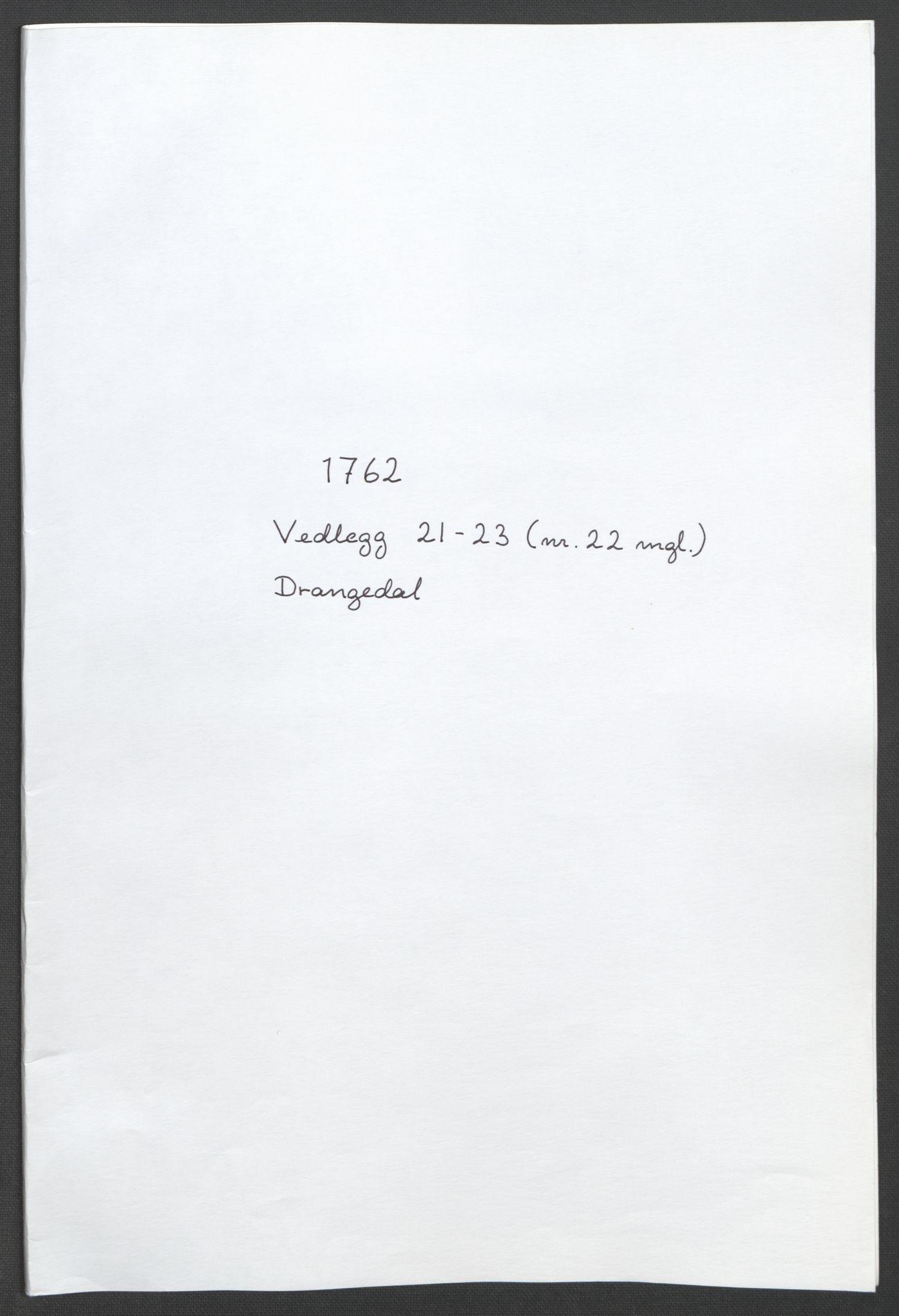 RA, Rentekammeret inntil 1814, Reviderte regnskaper, Fogderegnskap, R37/L2239: Ekstraskatten Nedre Telemark og Bamble, 1762-1763, s. 181
