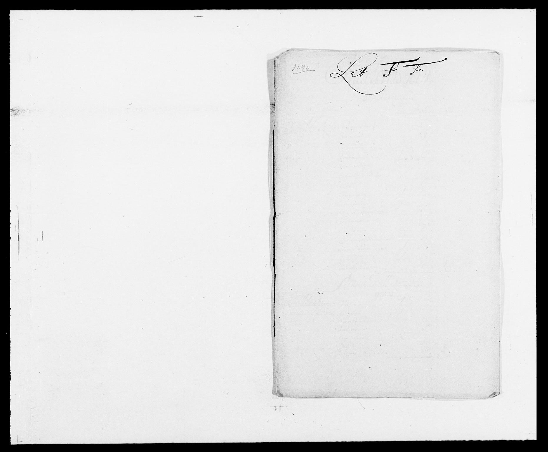 RA, Rentekammeret inntil 1814, Reviderte regnskaper, Fogderegnskap, R34/L2051: Fogderegnskap Bamble, 1688-1691, s. 149