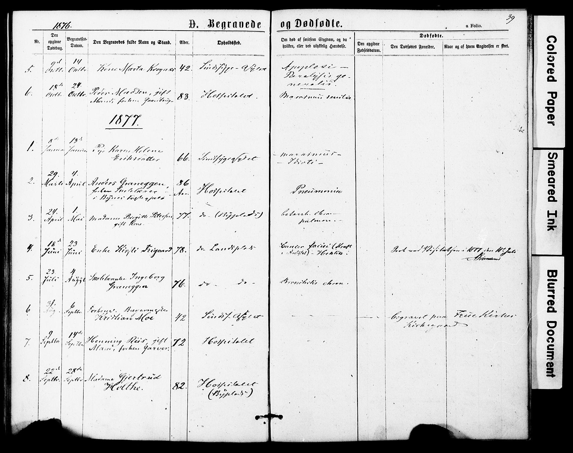SAT, Ministerialprotokoller, klokkerbøker og fødselsregistre - Sør-Trøndelag, 623/L0469: Ministerialbok nr. 623A03, 1868-1883, s. 39