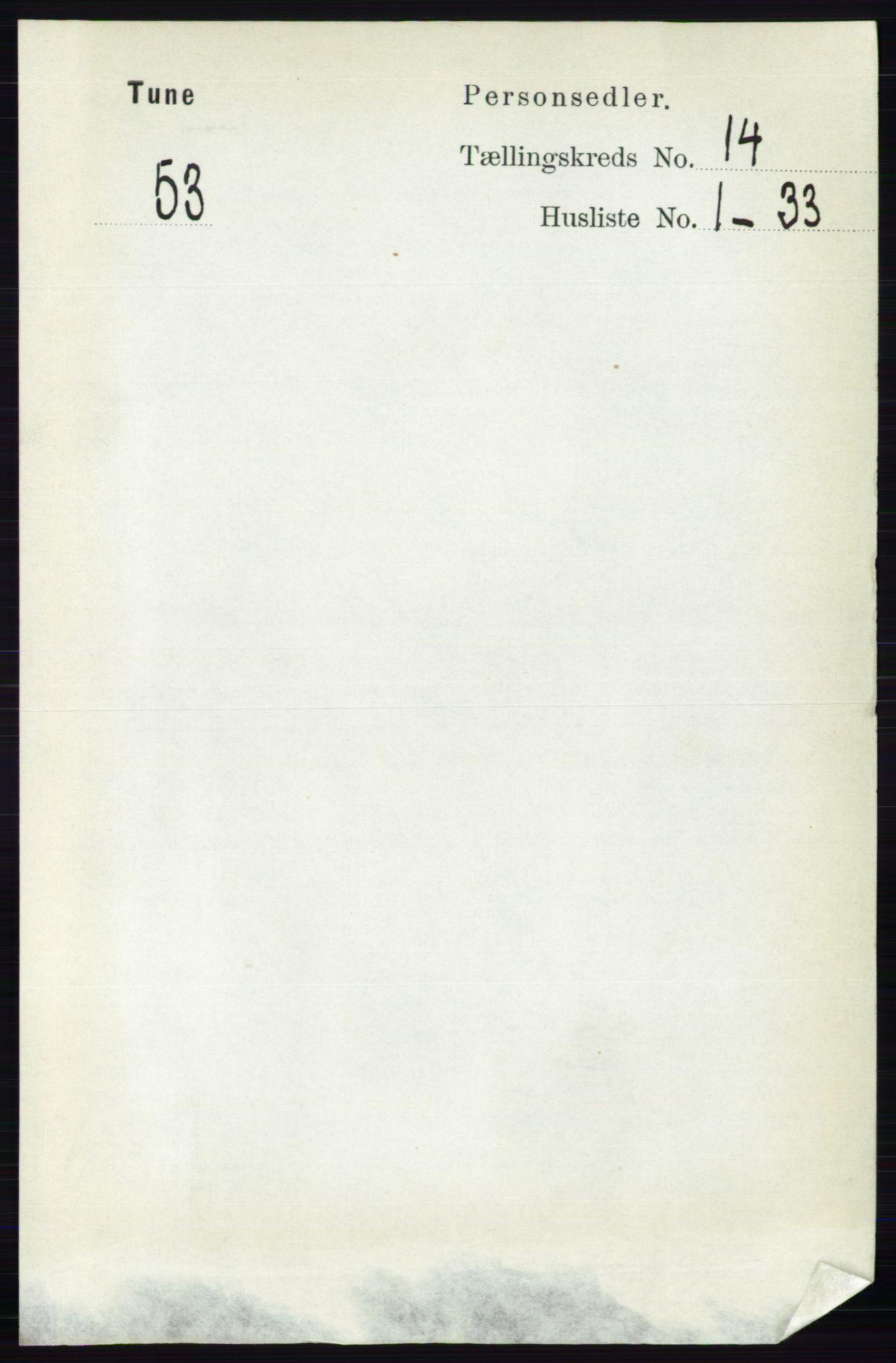 RA, Folketelling 1891 for 0130 Tune herred, 1891, s. 7923