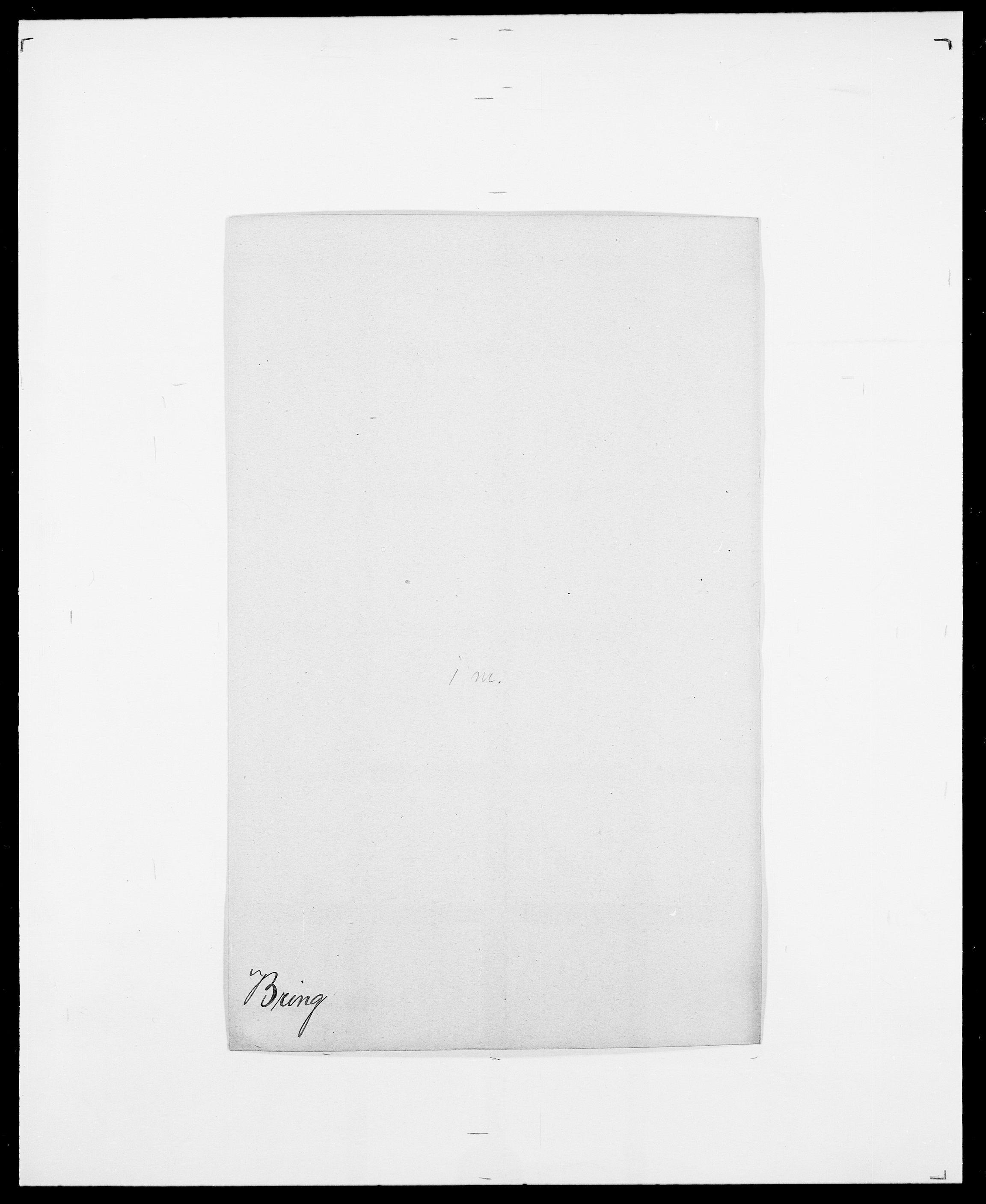 SAO, Delgobe, Charles Antoine - samling, D/Da/L0006: Brambani - Brønø, s. 392