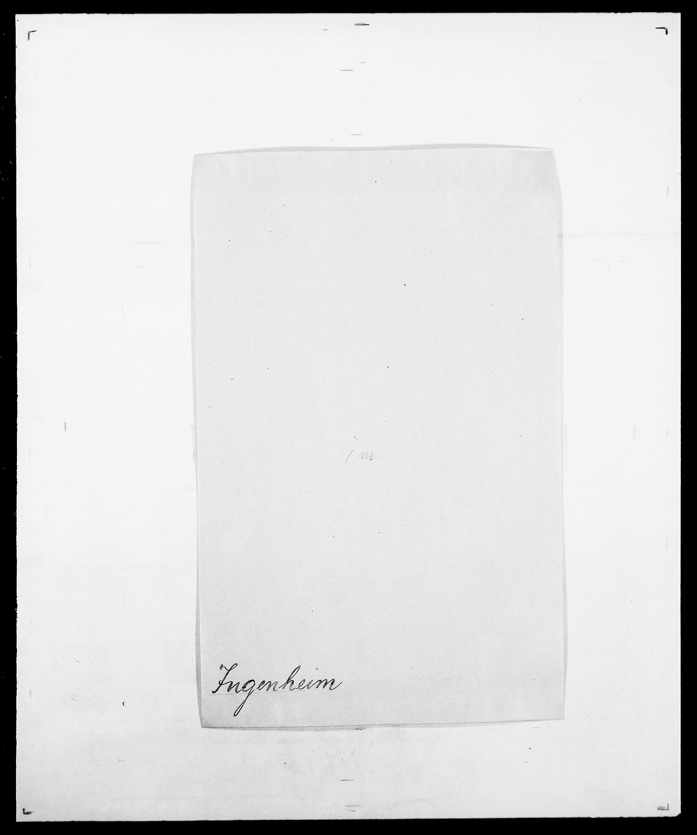 SAO, Delgobe, Charles Antoine - samling, D/Da/L0019: van der Hude - Joys, s. 786