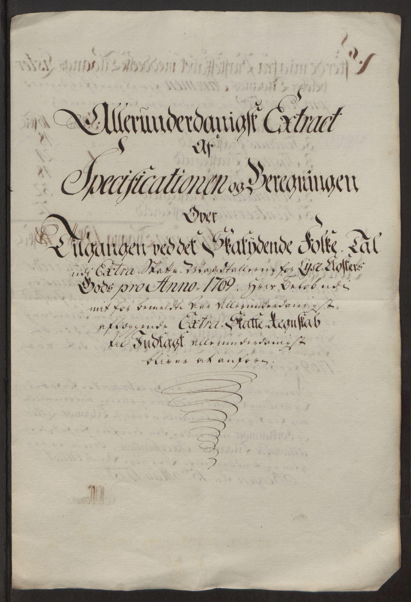 RA, Rentekammeret inntil 1814, Reviderte regnskaper, Fogderegnskap, R50/L3180: Ekstraskatten Lyse kloster, 1762-1783, s. 220