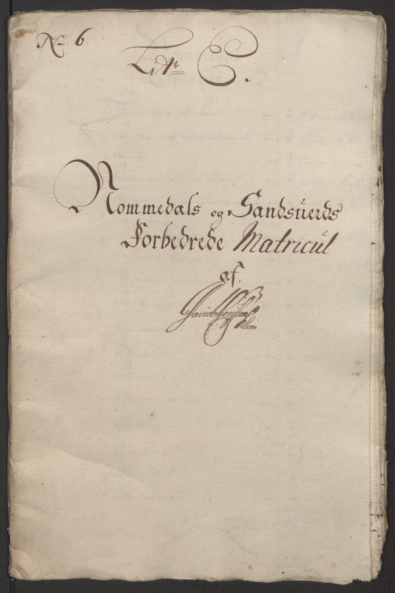 RA, Rentekammeret inntil 1814, Reviderte regnskaper, Fogderegnskap, R24/L1575: Fogderegnskap Numedal og Sandsvær, 1692-1695, s. 70