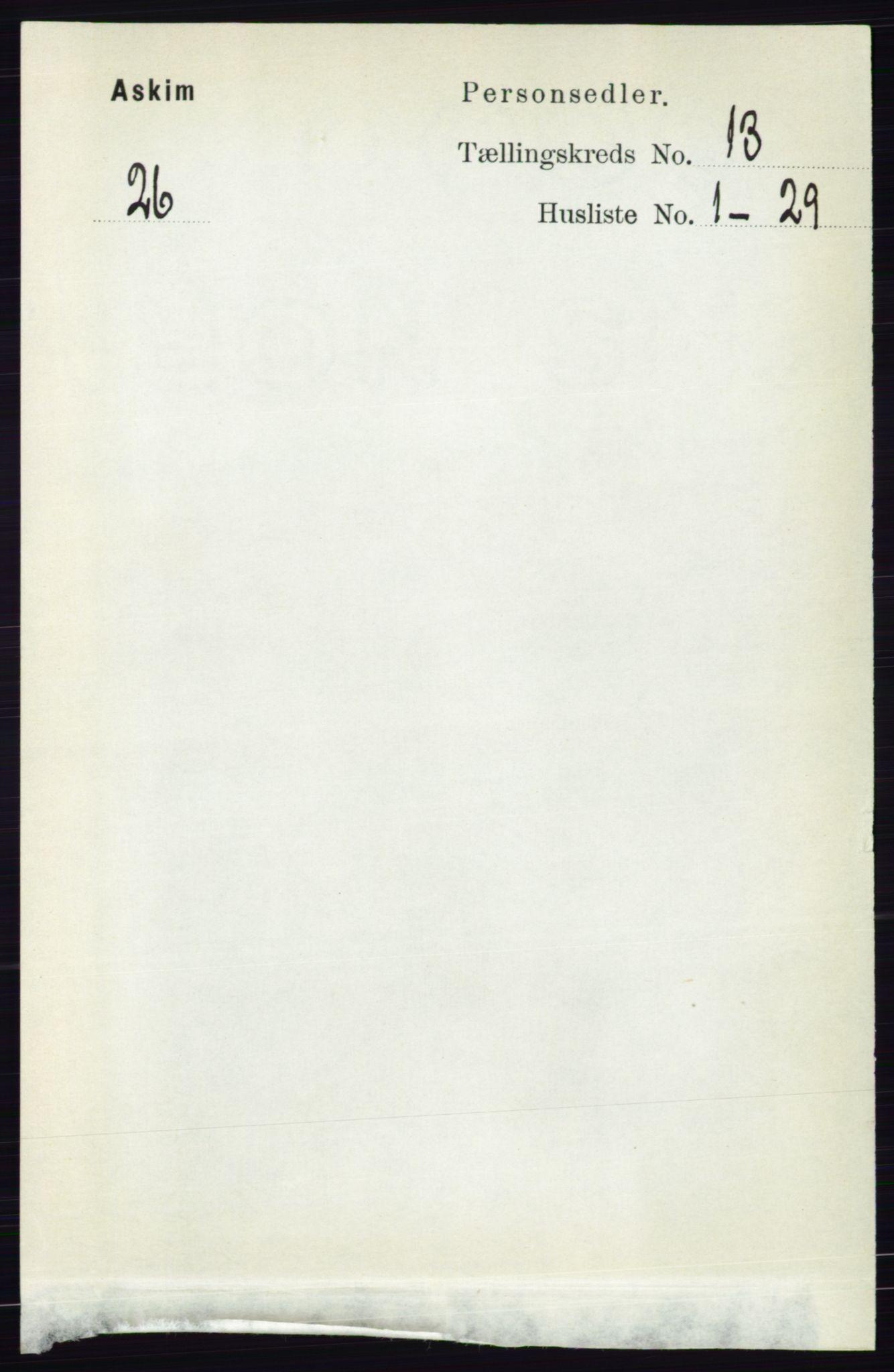 RA, Folketelling 1891 for 0124 Askim herred, 1891, s. 2041