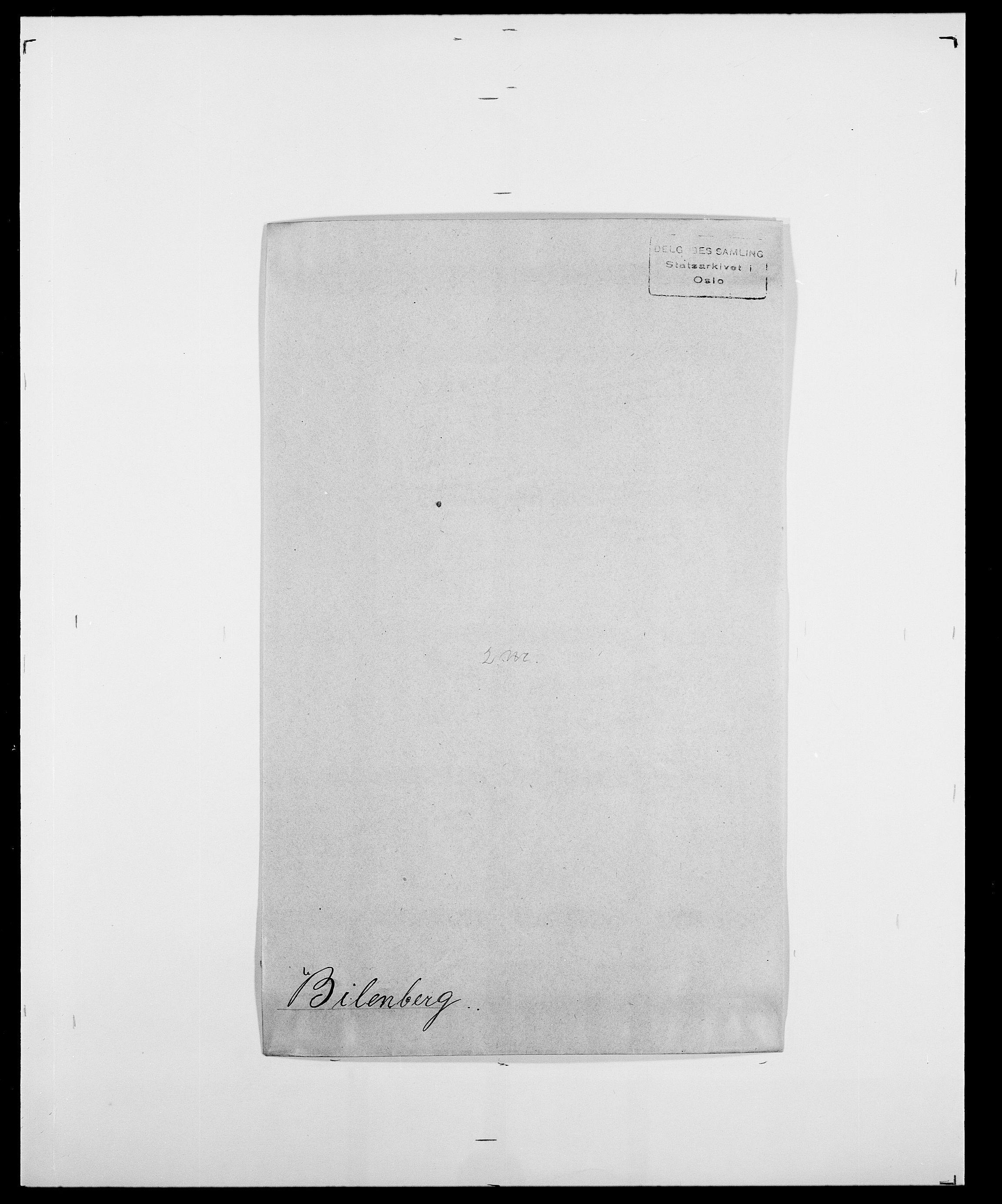 SAO, Delgobe, Charles Antoine - samling, D/Da/L0004: Bergendahl - Blære, s. 277