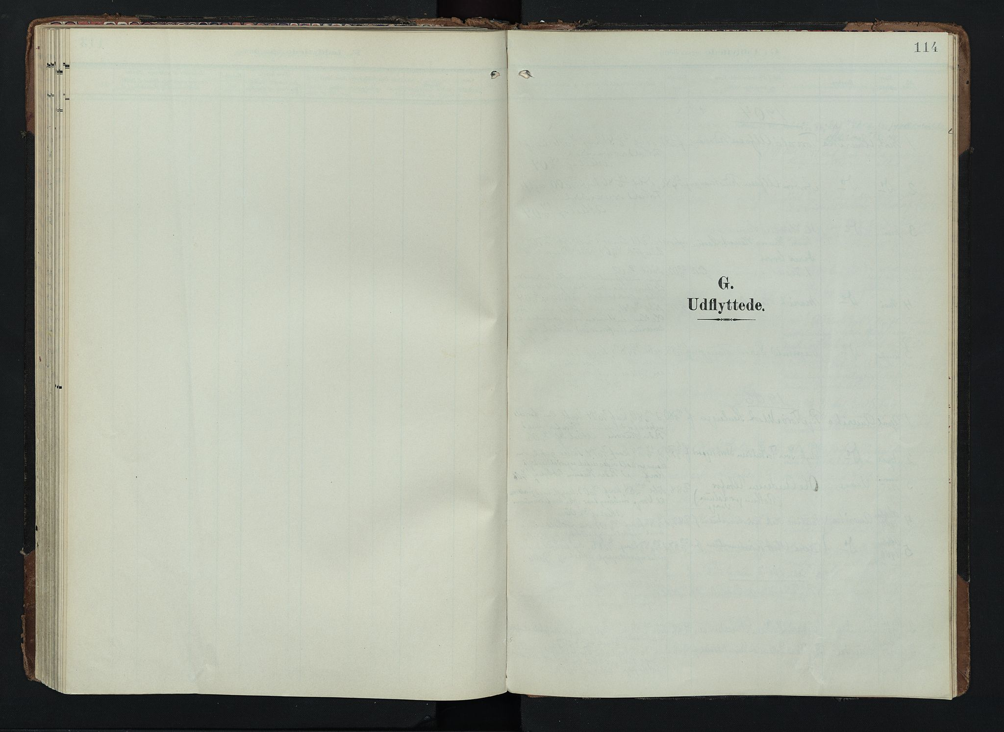 SAH, Lom prestekontor, K/L0012: Ministerialbok nr. 12, 1904-1928, s. 114