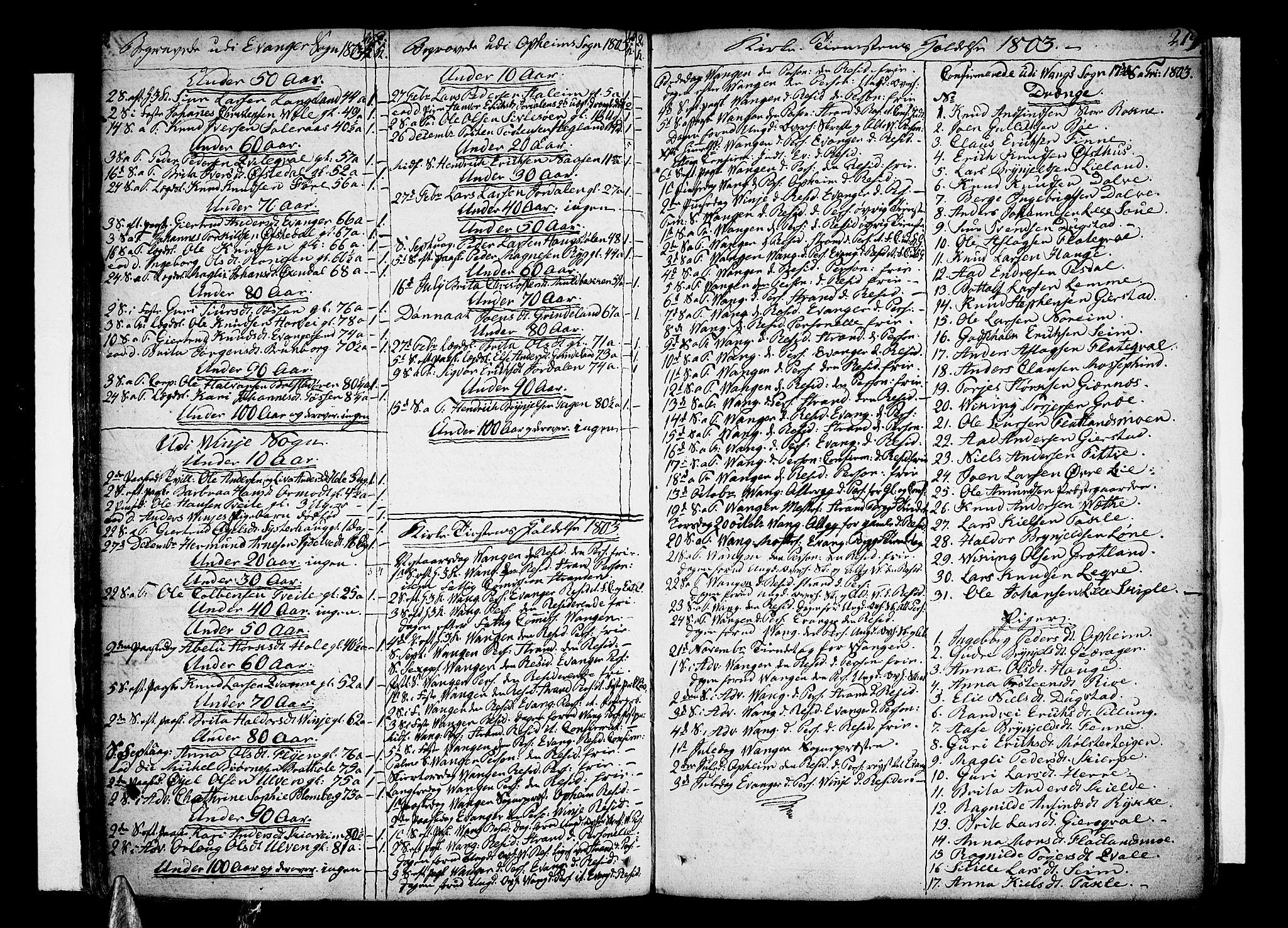 SAB, Voss Sokneprestembete, H/Haa: Ministerialbok nr. A 9, 1780-1810, s. 219