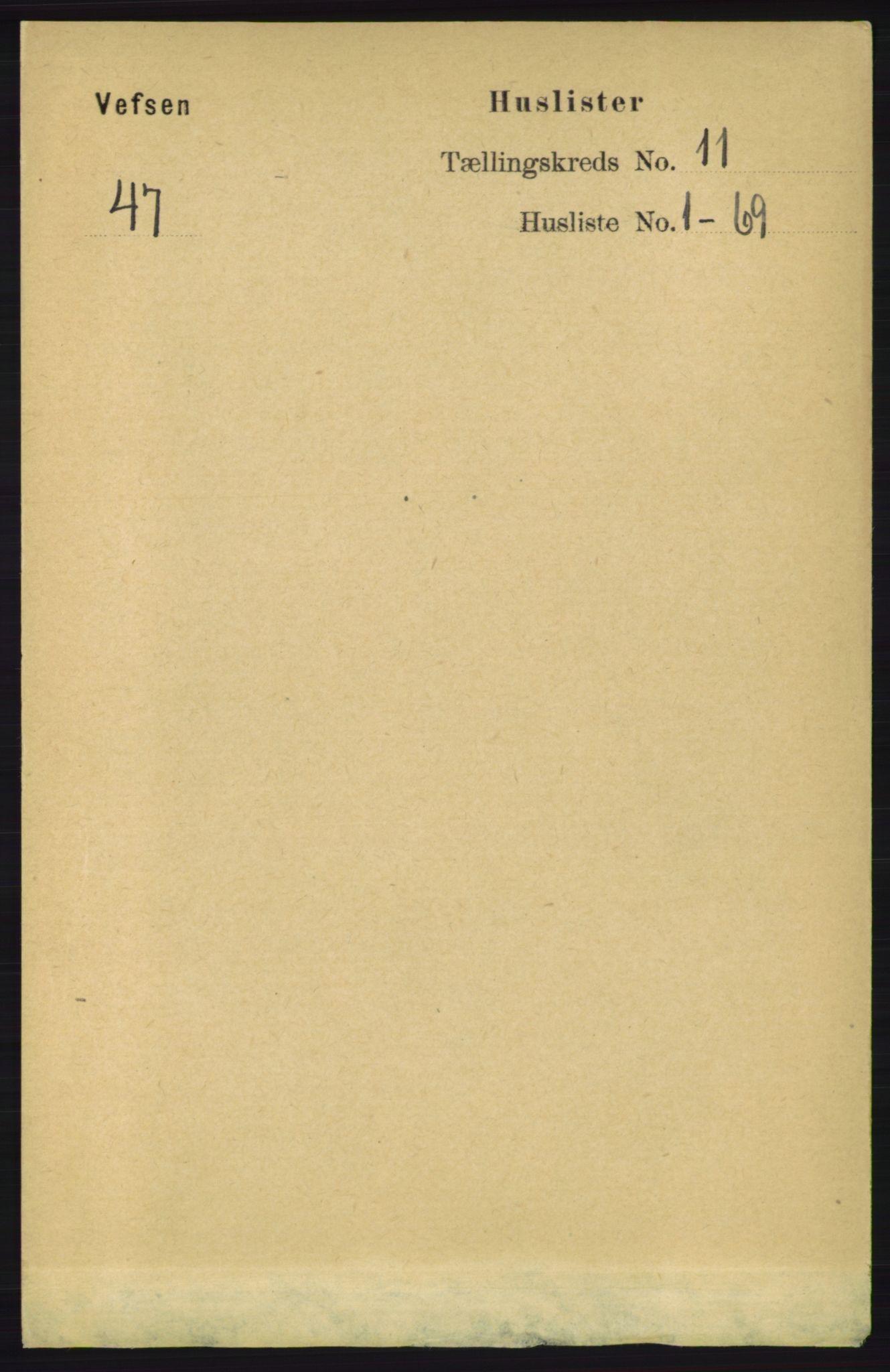 RA, Folketelling 1891 for 1824 Vefsn herred, 1891, s. 5592