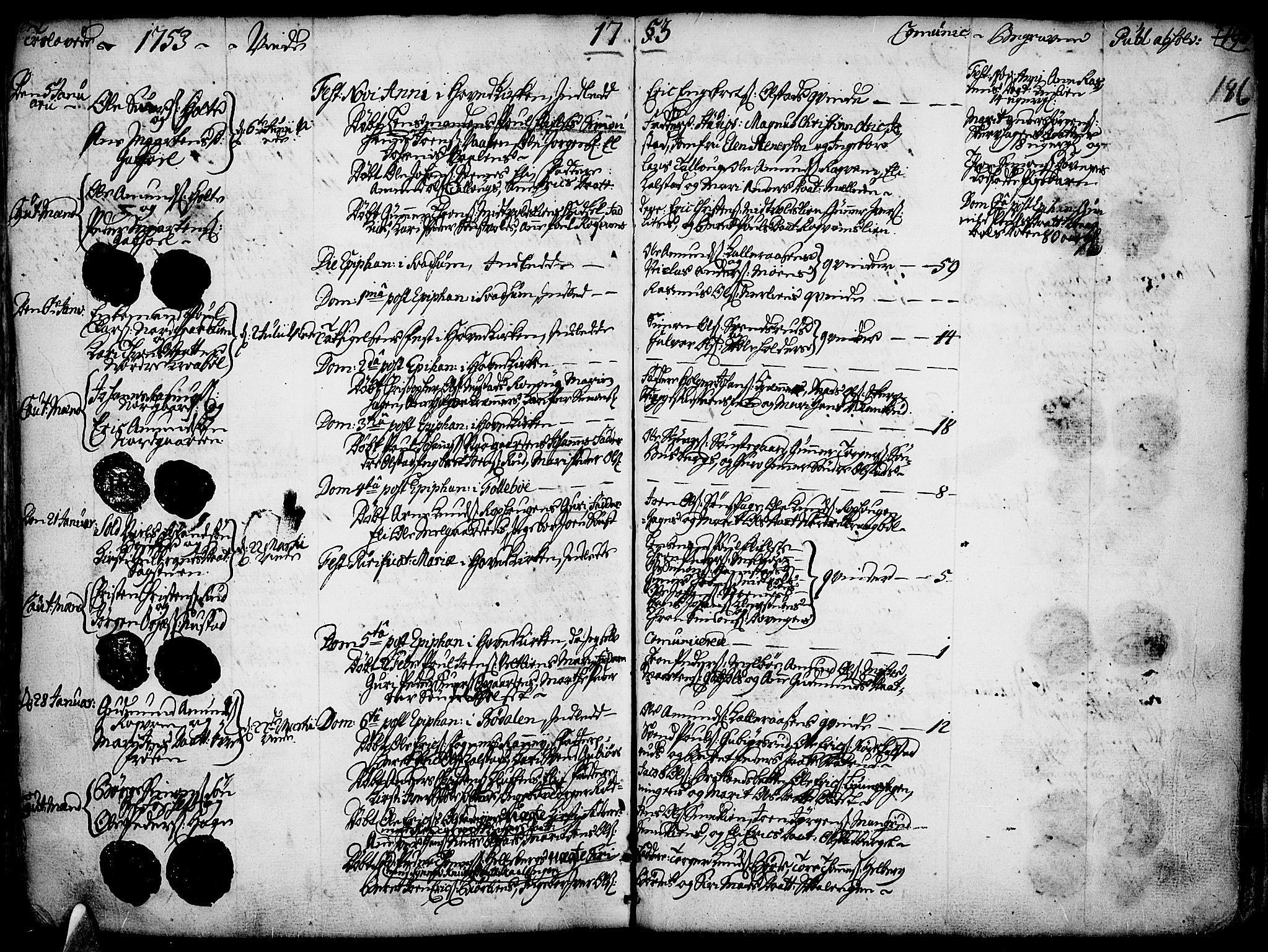 SAH, Gausdal prestekontor, Ministerialbok nr. 2, 1729-1757, s. 186