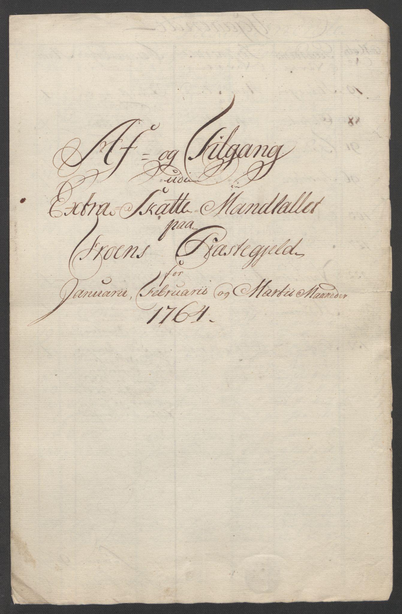 RA, Rentekammeret inntil 1814, Reviderte regnskaper, Fogderegnskap, R17/L1266: Ekstraskatten Gudbrandsdal, 1762-1766, s. 383