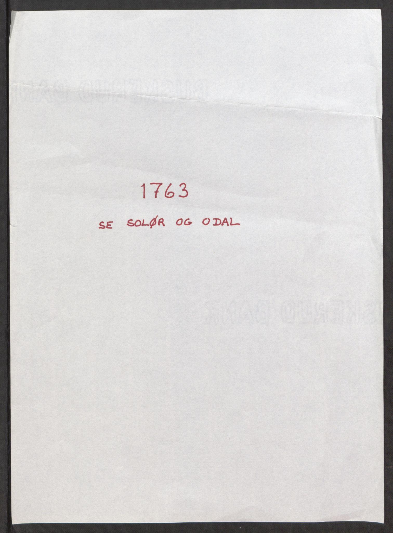RA, Rentekammeret inntil 1814, Reviderte regnskaper, Fogderegnskap, R15/L1014: Ekstraskatten Østerdal, 1762-1764, s. 490