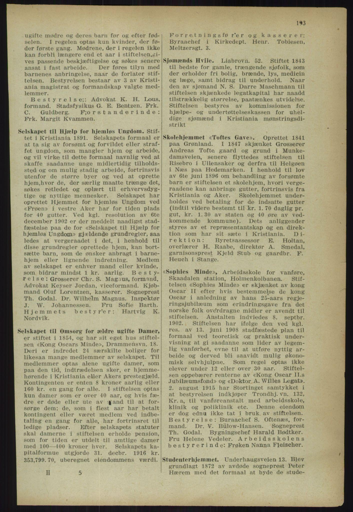 PUBL, Kristiania/Oslo adressebok, 1918, s. 206