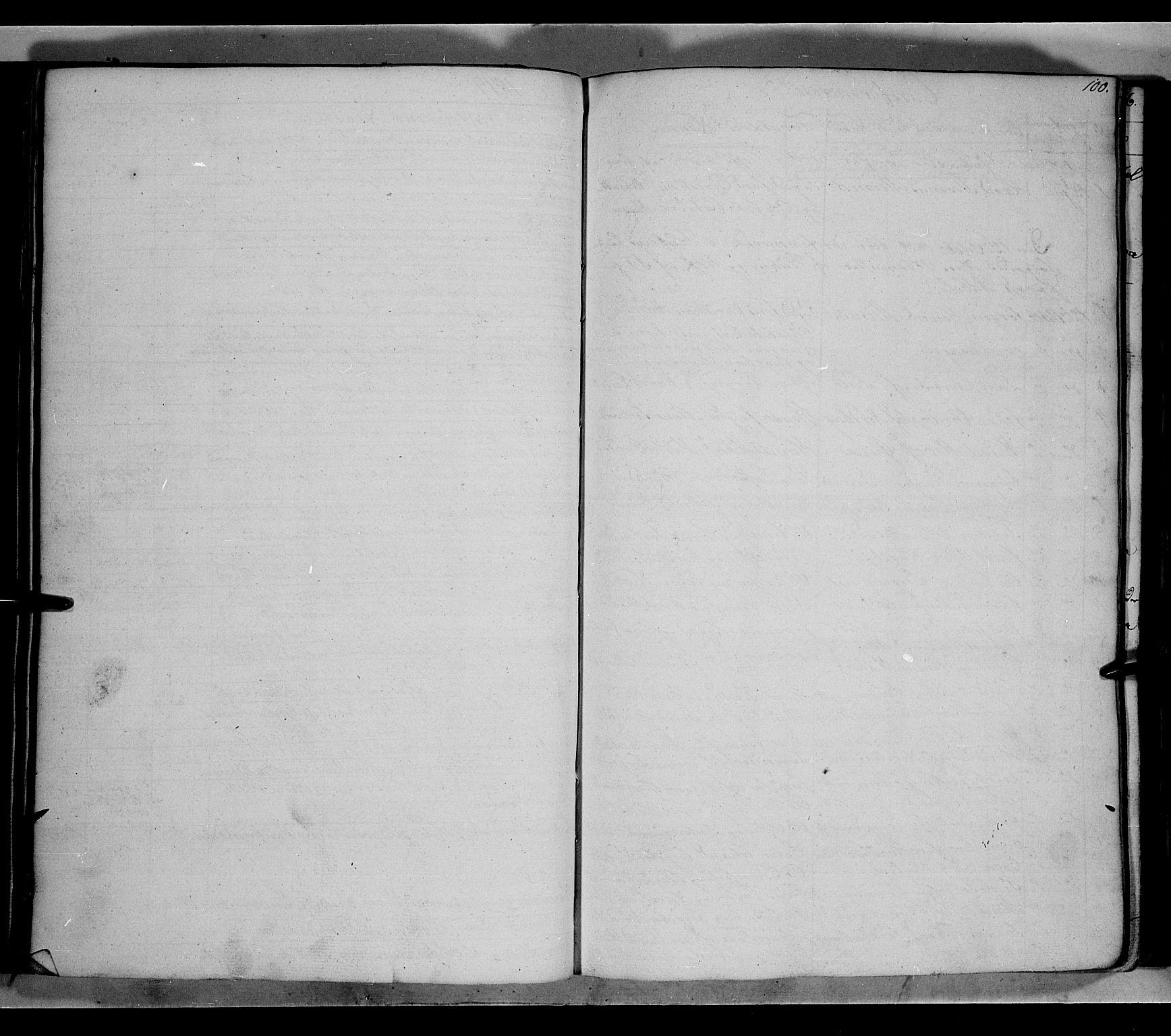 SAH, Land prestekontor, Klokkerbok nr. 2, 1833-1849, s. 100