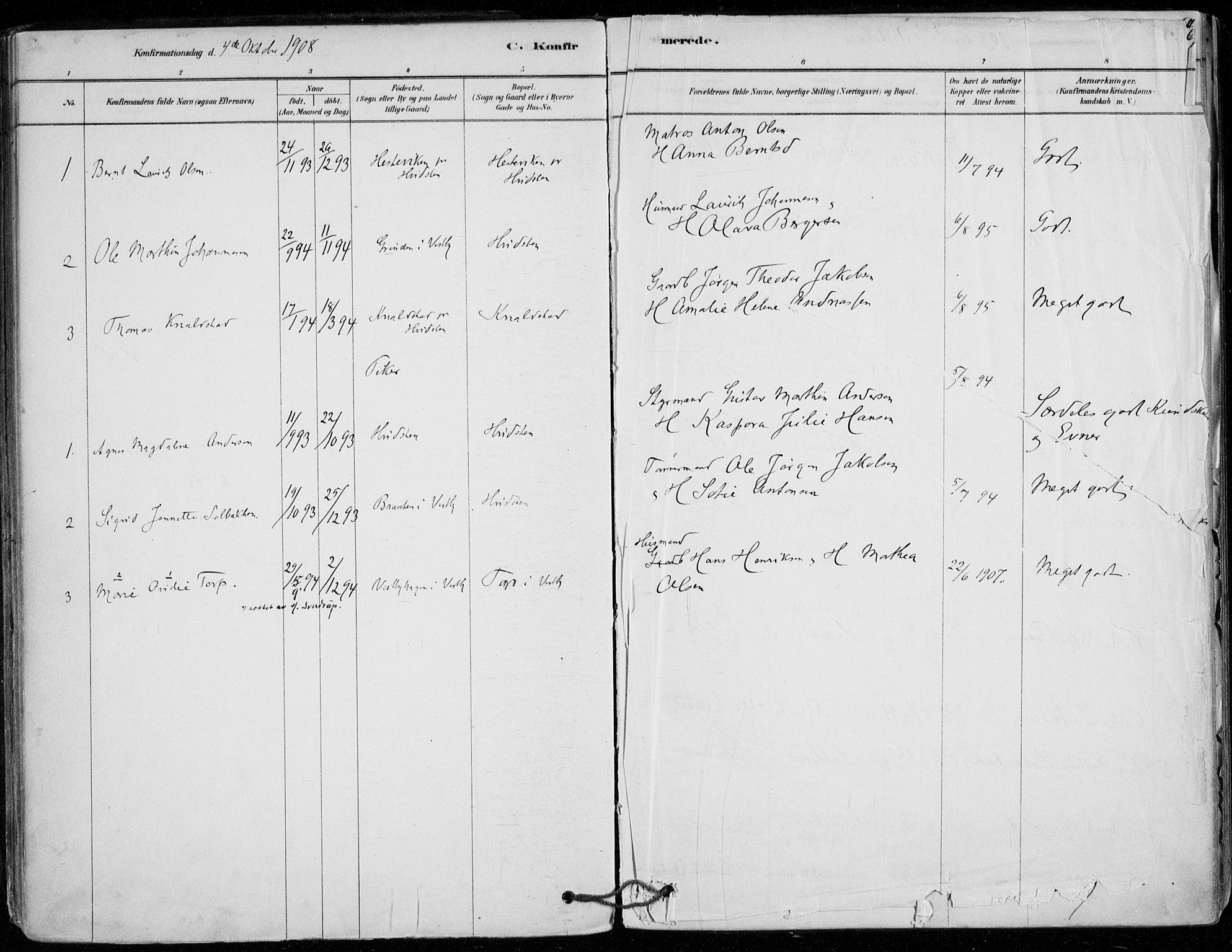 SAO, Vestby prestekontor Kirkebøker, F/Fd/L0001: Ministerialbok nr. IV 1, 1878-1945, s. 63