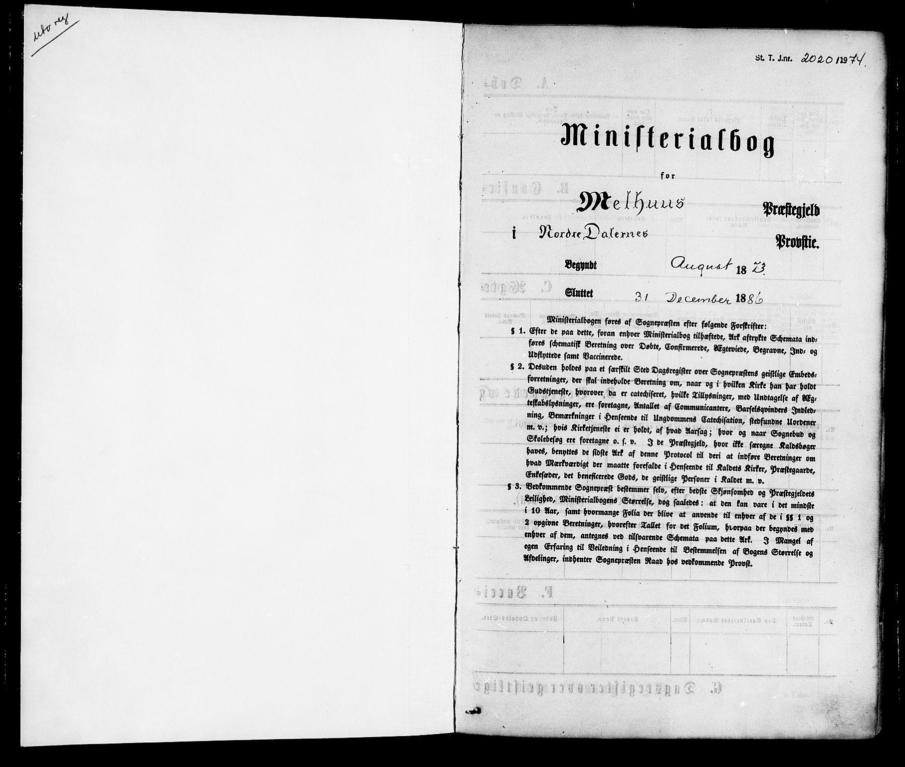 SAT, Ministerialprotokoller, klokkerbøker og fødselsregistre - Sør-Trøndelag, 691/L1079: Ministerialbok nr. 691A11, 1873-1886