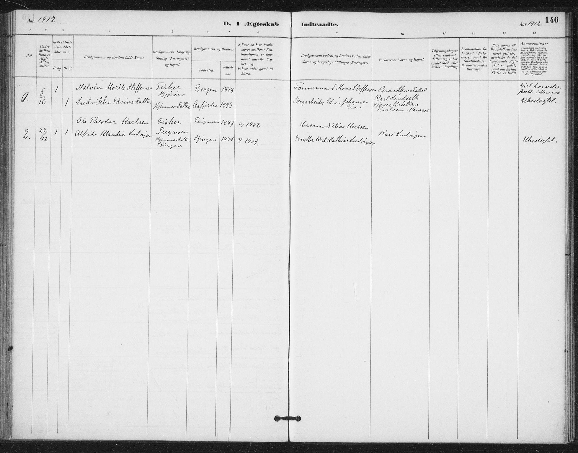 SAT, Ministerialprotokoller, klokkerbøker og fødselsregistre - Nord-Trøndelag, 772/L0603: Ministerialbok nr. 772A01, 1885-1912, s. 146