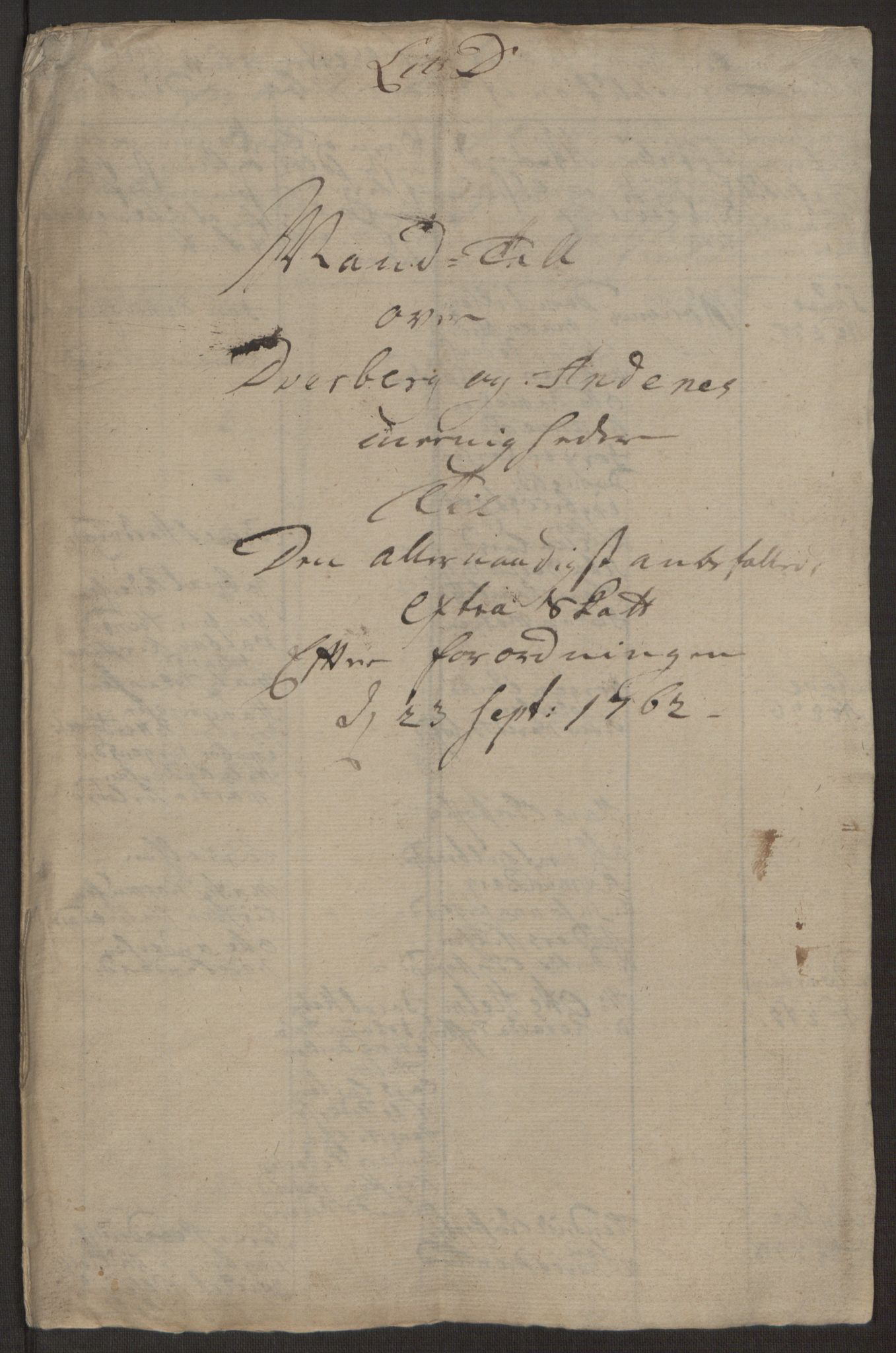 RA, Rentekammeret inntil 1814, Realistisk ordnet avdeling, Ol/L0022a: [Gg 10]: Ekstraskatten, 23.09.1762. Nordlands amt, 1763-1769, s. 148