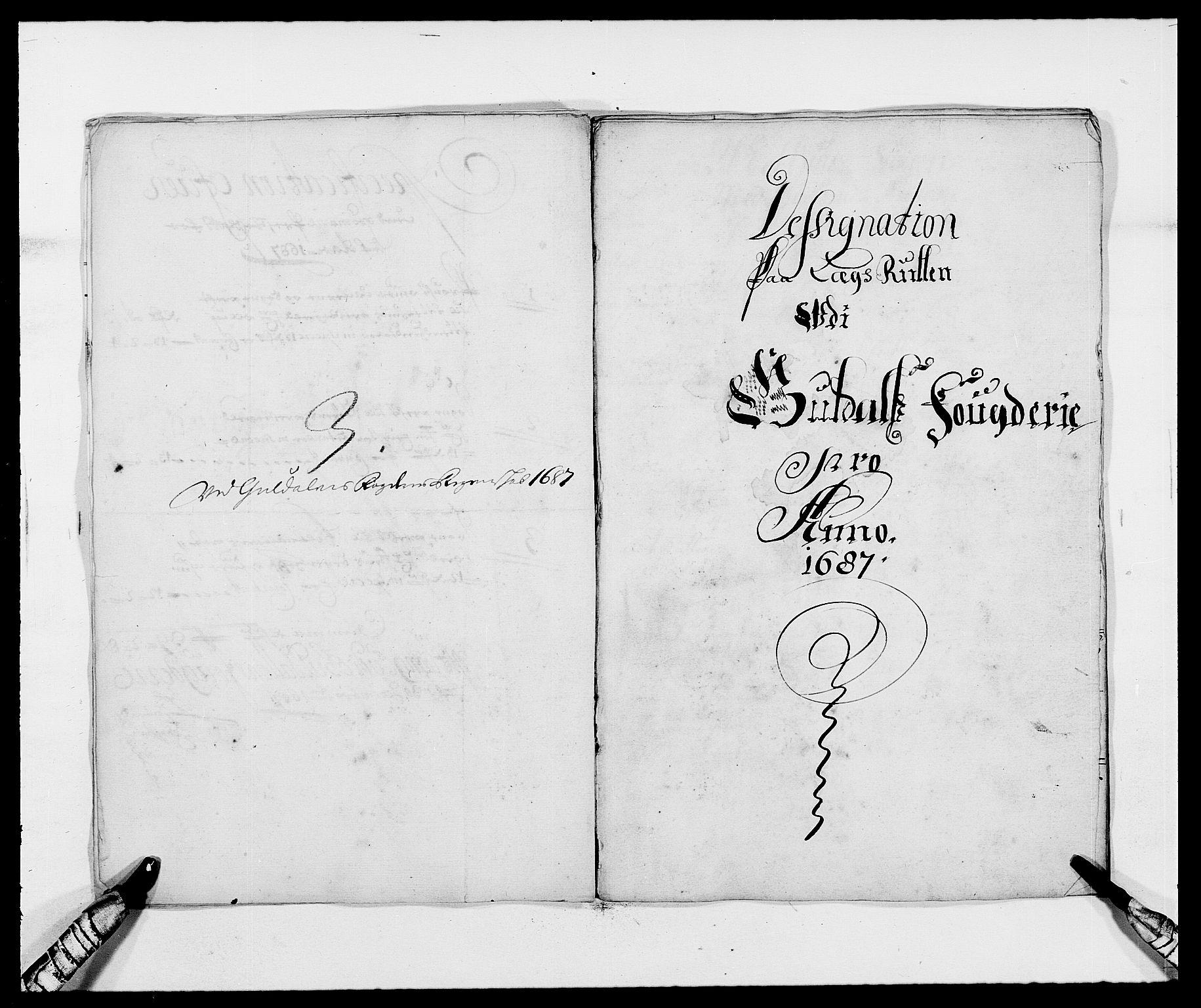 RA, Rentekammeret inntil 1814, Reviderte regnskaper, Fogderegnskap, R59/L3939: Fogderegnskap Gauldal, 1687-1688, s. 12