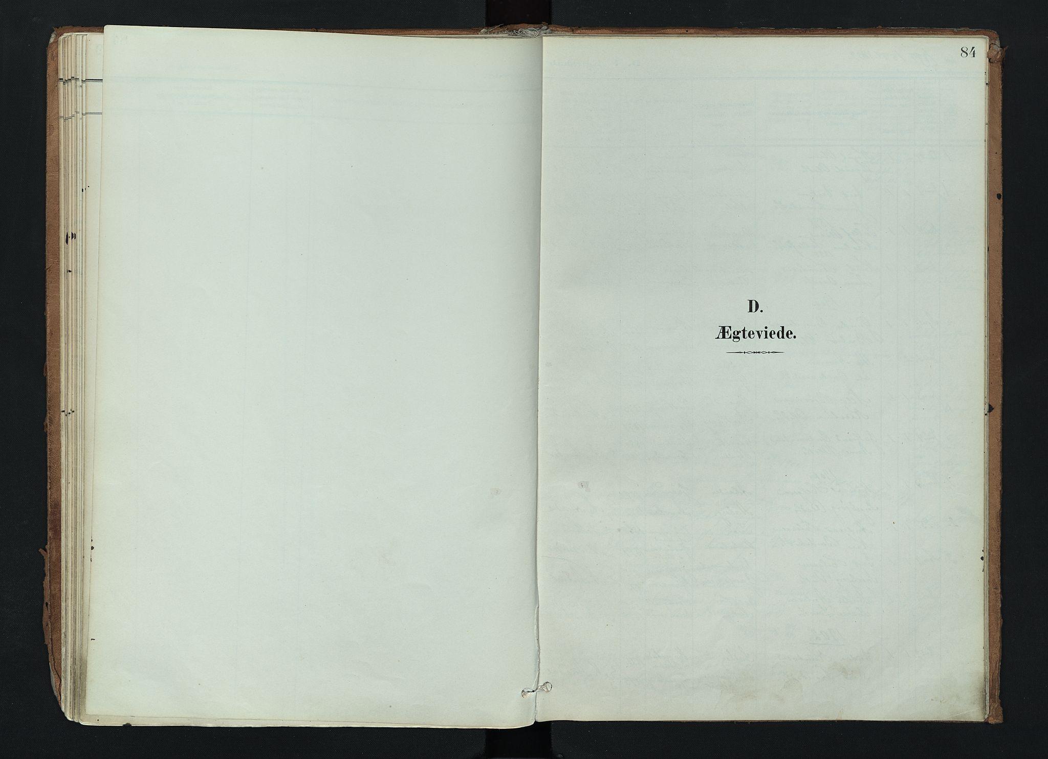 SAH, Nord-Aurdal prestekontor, Ministerialbok nr. 17, 1897-1926, s. 84