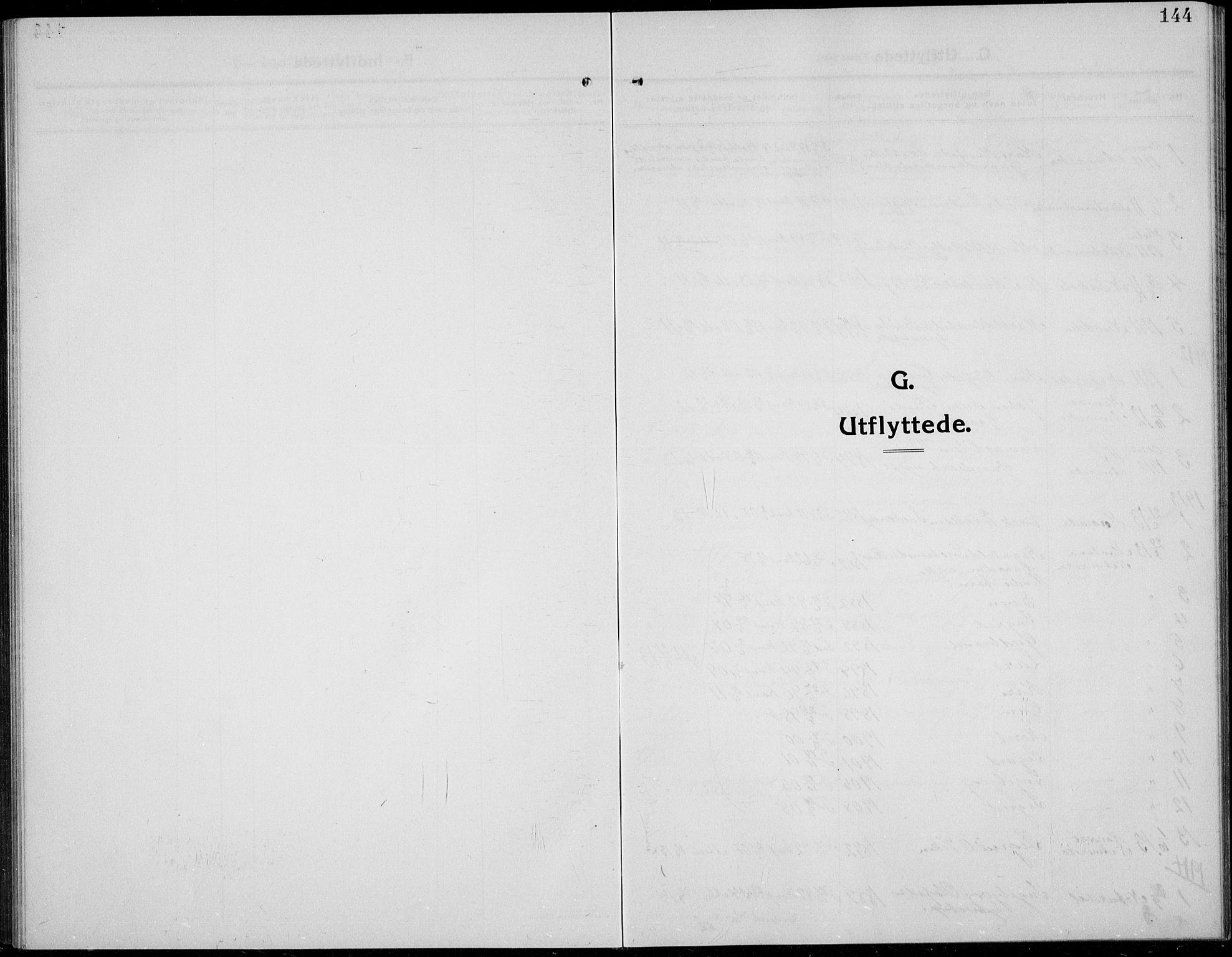 SAH, Øystre Slidre prestekontor, Klokkerbok nr. 8, 1911-1938, s. 144