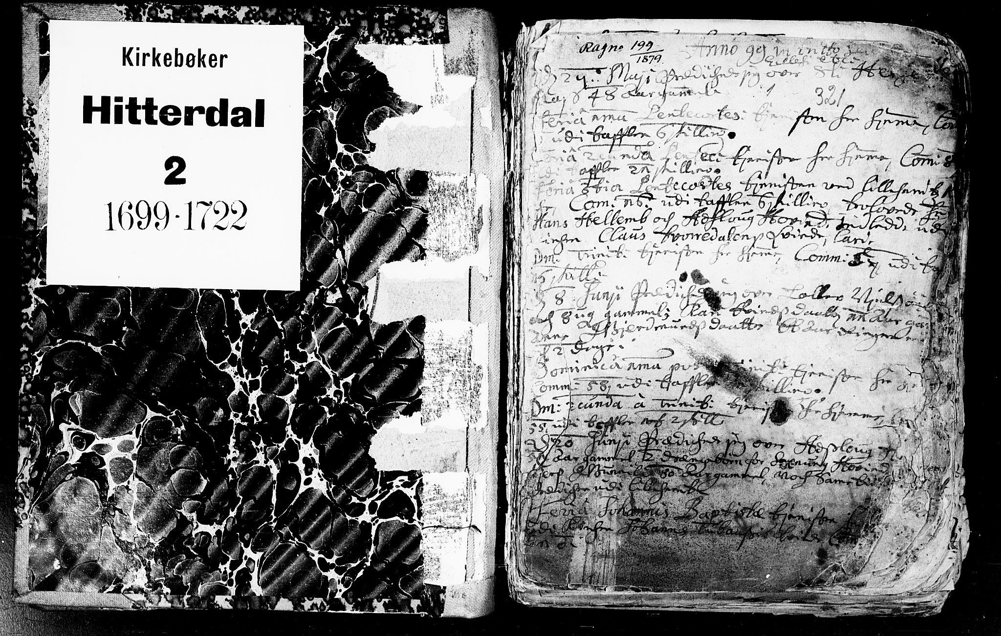 SAKO, Heddal kirkebøker, F/Fa/L0002: Ministerialbok nr. I 2, 1699-1722