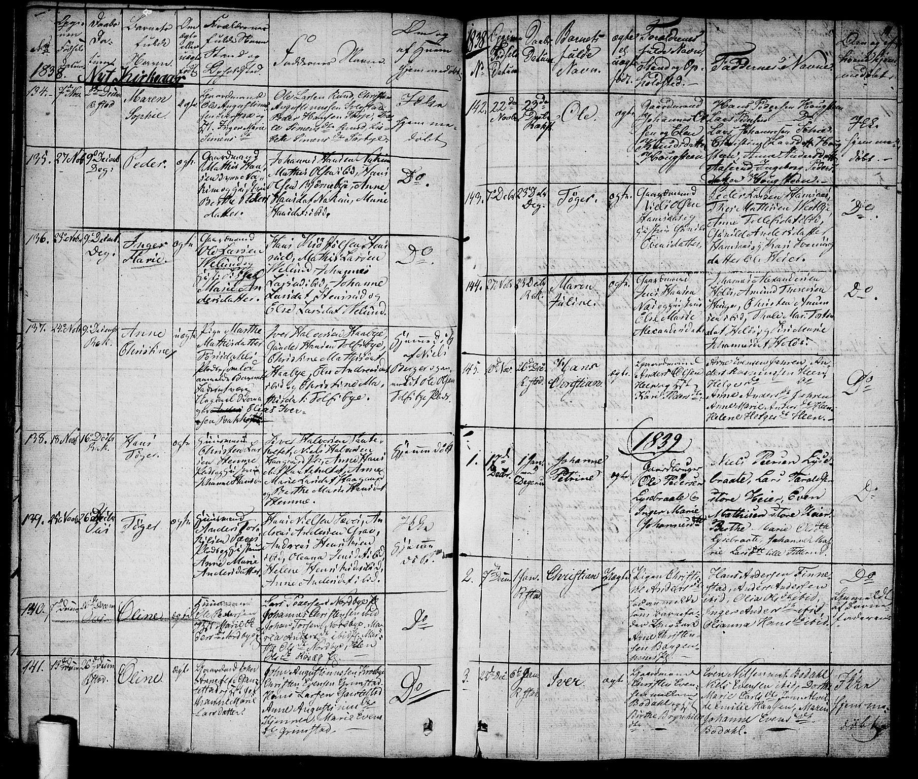 SAO, Rakkestad prestekontor Kirkebøker, F/Fa/L0007: Ministerialbok nr. I 7, 1825-1841, s. 111