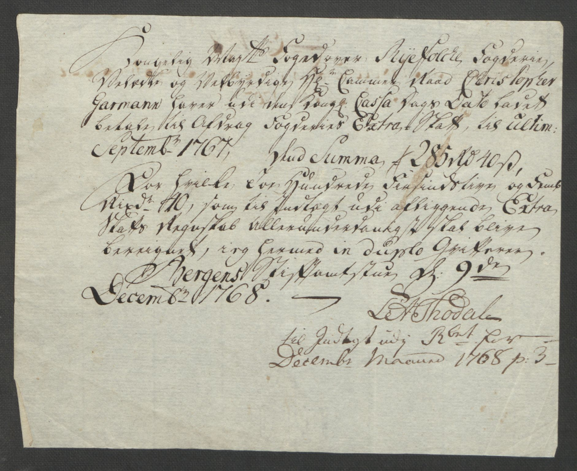 RA, Rentekammeret inntil 1814, Reviderte regnskaper, Fogderegnskap, R47/L2972: Ekstraskatten Ryfylke, 1762-1780, s. 80