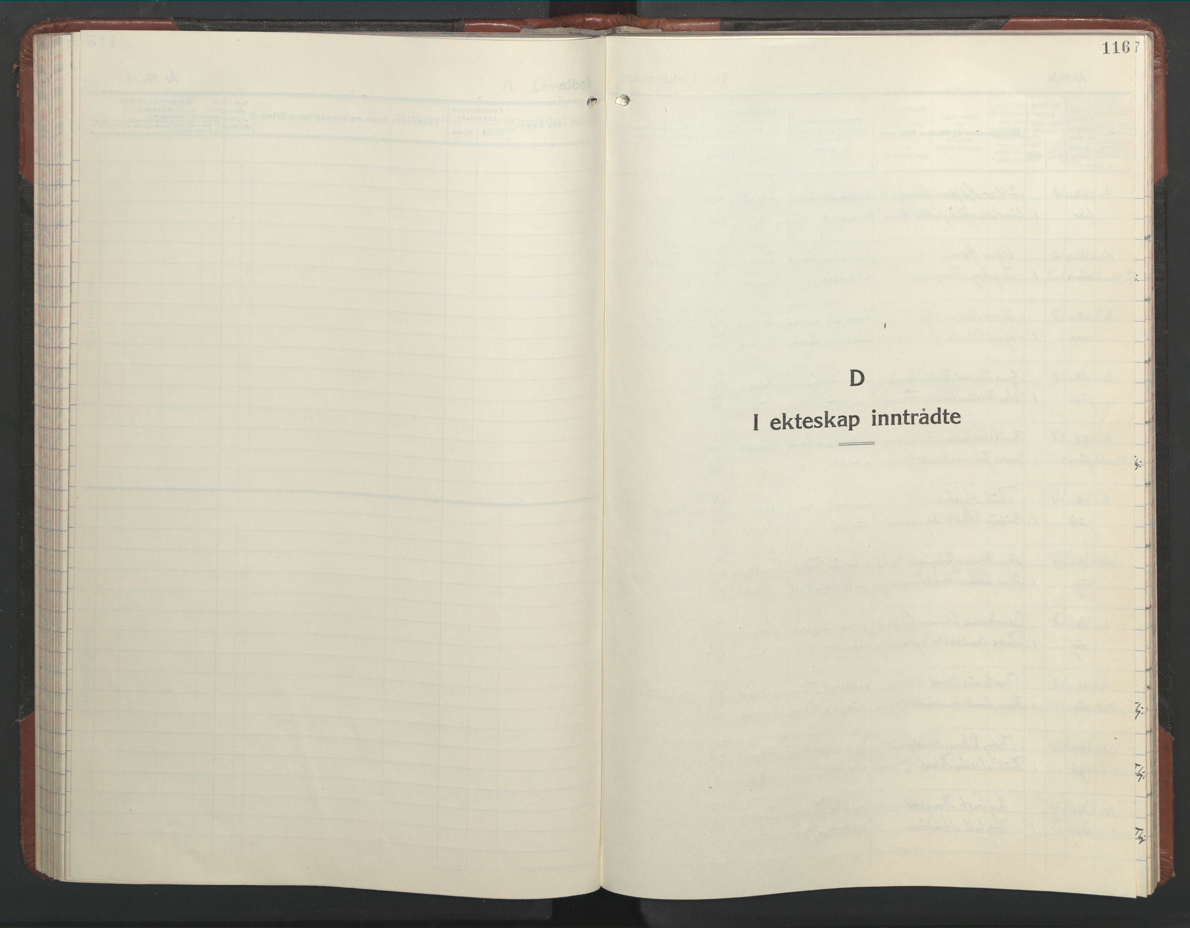 SAT, Ministerialprotokoller, klokkerbøker og fødselsregistre - Nord-Trøndelag, 701/L0019: Klokkerbok nr. 701C03, 1930-1953, s. 116
