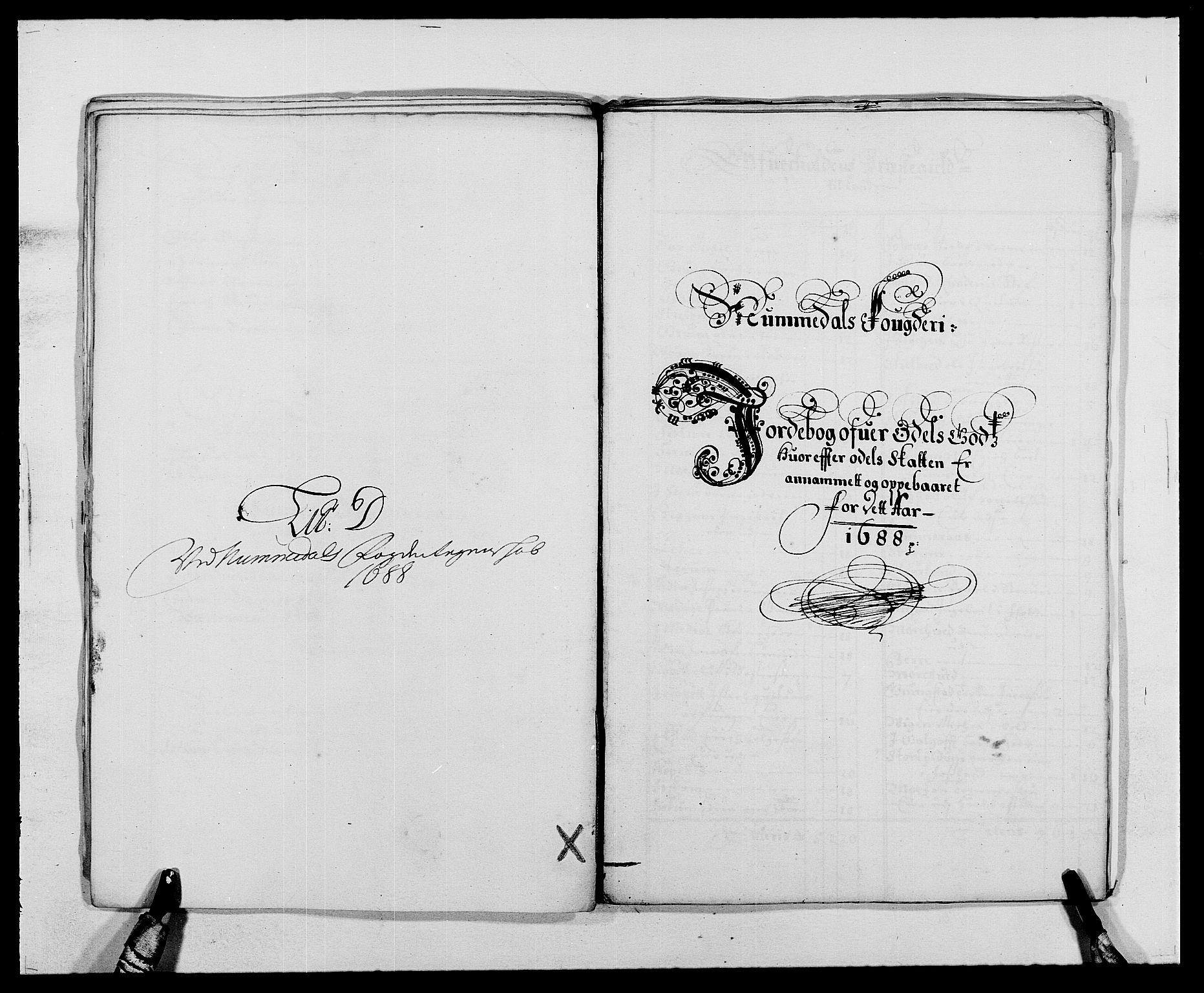 RA, Rentekammeret inntil 1814, Reviderte regnskaper, Fogderegnskap, R64/L4422: Fogderegnskap Namdal, 1687-1689, s. 113
