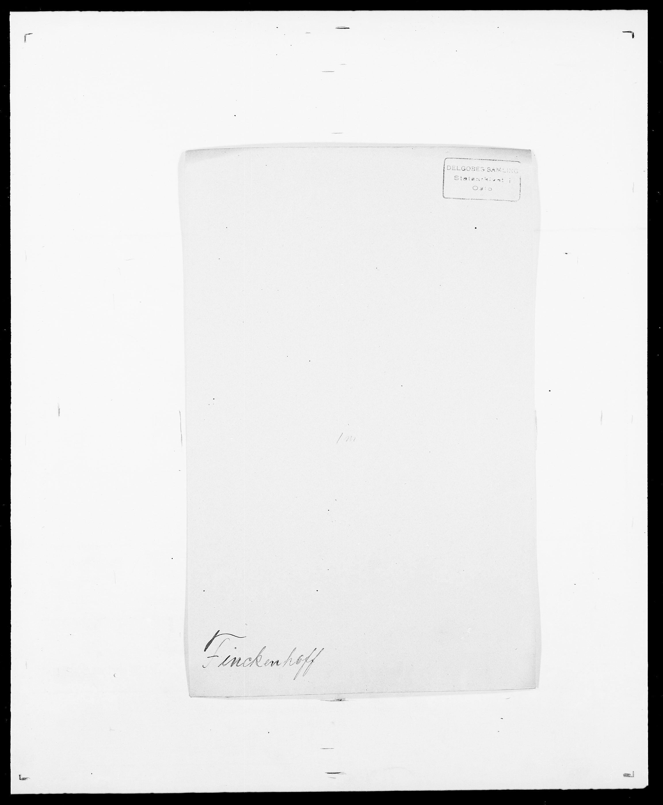 SAO, Delgobe, Charles Antoine - samling, D/Da/L0011: Fahlander - Flood, Flod, s. 459