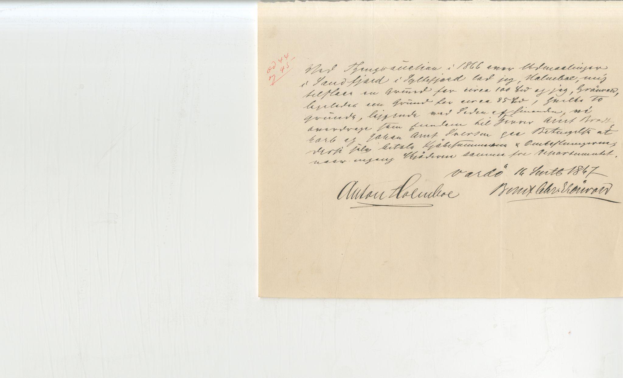 VAMU, Brodtkorb handel A/S, Q/Qb/L0003: Faste eiendommer i Vardø Herred, 1862-1939, s. 257