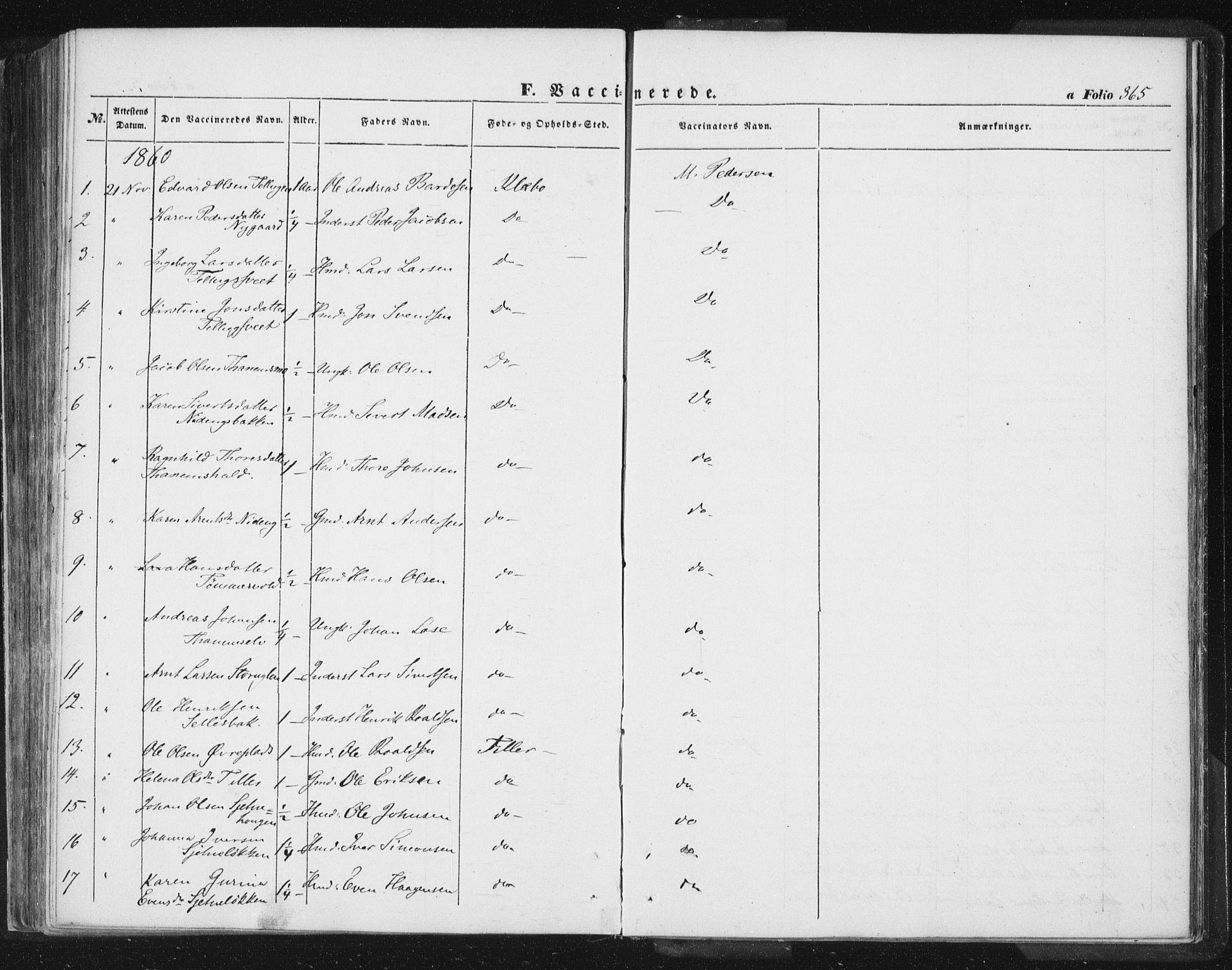 SAT, Ministerialprotokoller, klokkerbøker og fødselsregistre - Sør-Trøndelag, 618/L0441: Ministerialbok nr. 618A05, 1843-1862, s. 365