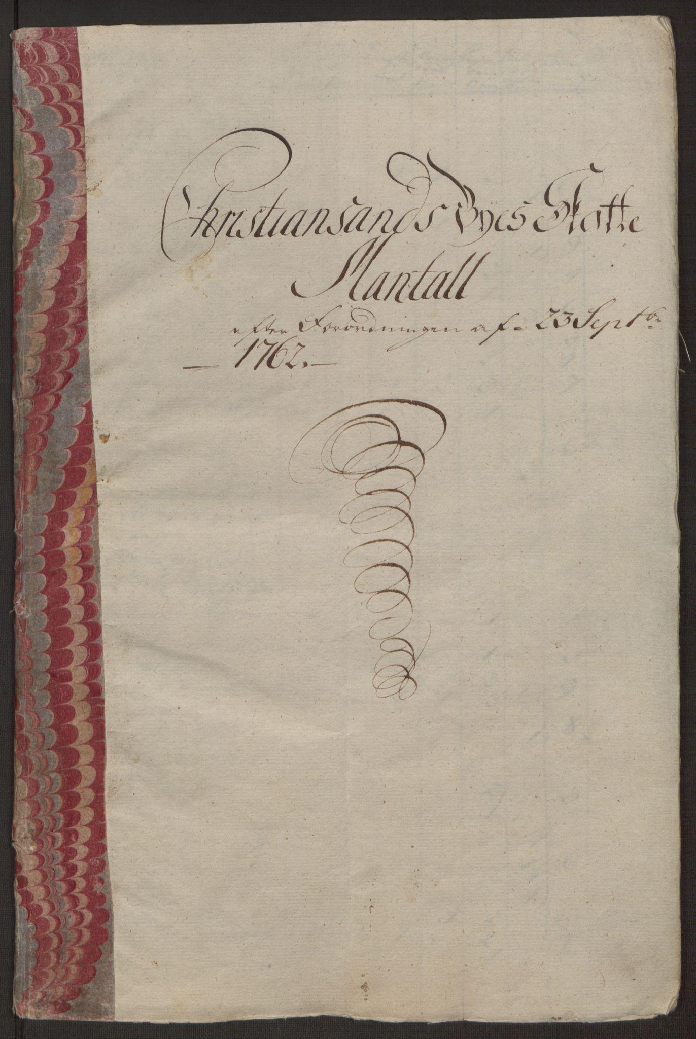 RA, Rentekammeret inntil 1814, Reviderte regnskaper, Byregnskaper, R/Rm/L0265: [M6] Kontribusjonsregnskap, 1762-1764, s. 28