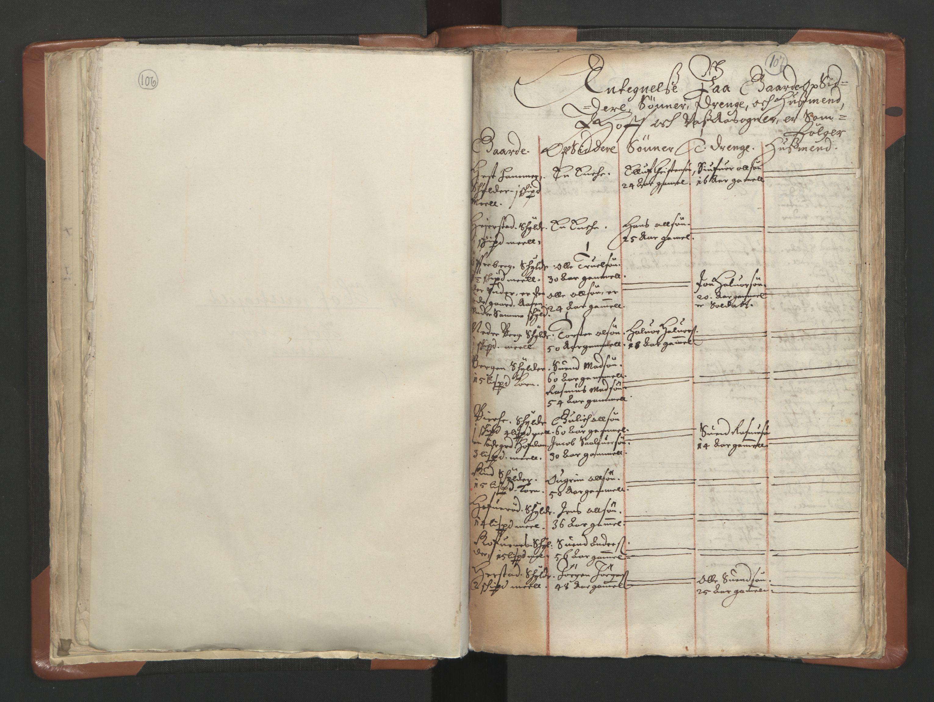 RA, Sogneprestenes manntall 1664-1666, nr. 10: Tønsberg prosti, 1664-1666, s. 106-107